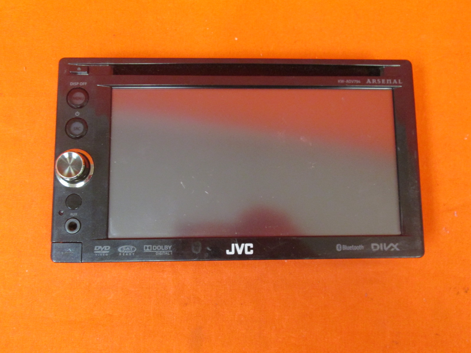 Image 0 of Replacement Faceplate For JVC Arsenal KW-ADV794 DVD Receiver