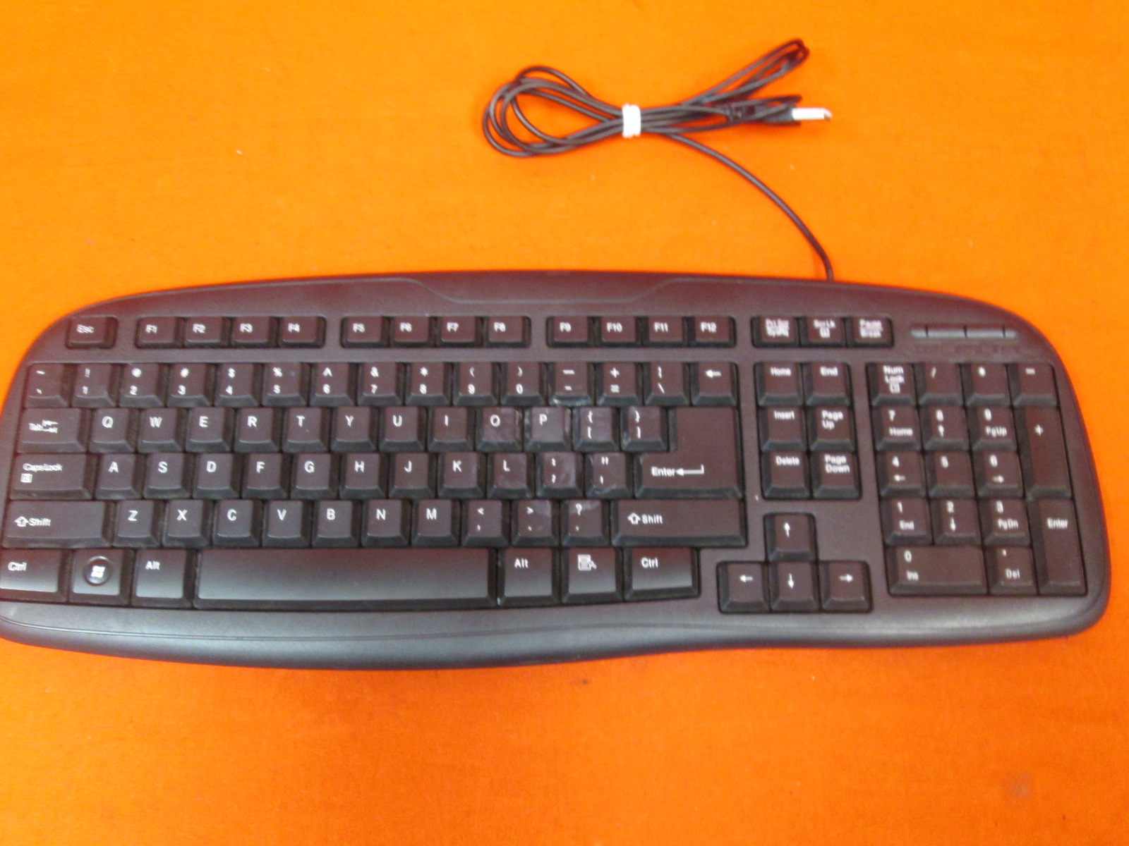 Image 0 of Genuine Dell Multimedia Black USB Wired Keyboard SK-8135