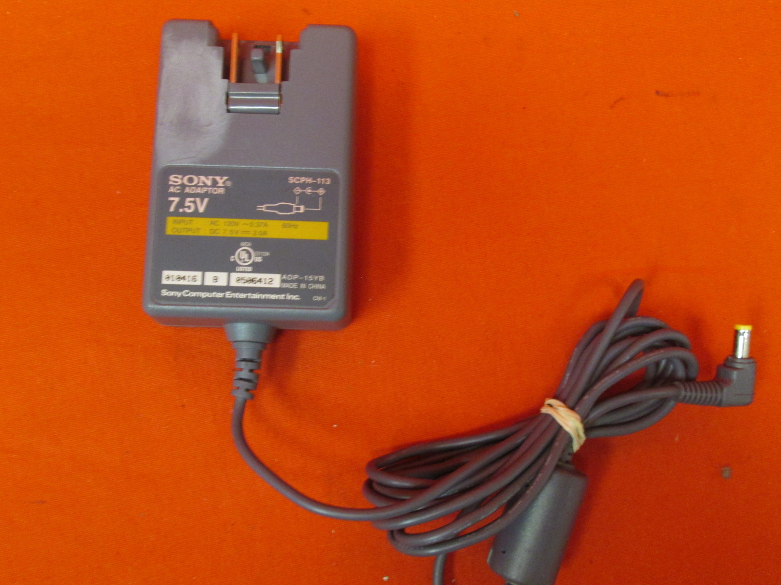 Image 0 of Sony SCPH-113 7.5 Volt Adapter For PlayStation 1 PS1
