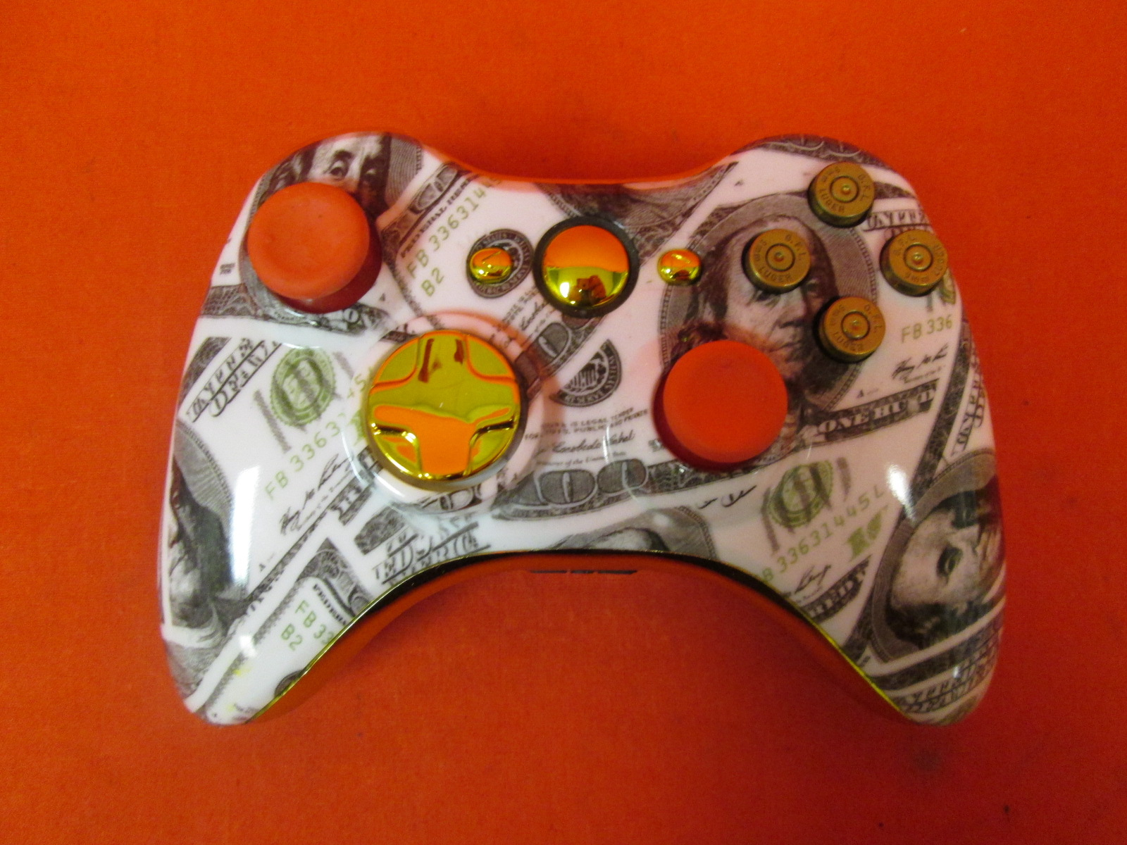 Image 0 of Controller Chaos Custom Wireless Controller For Xbox 360