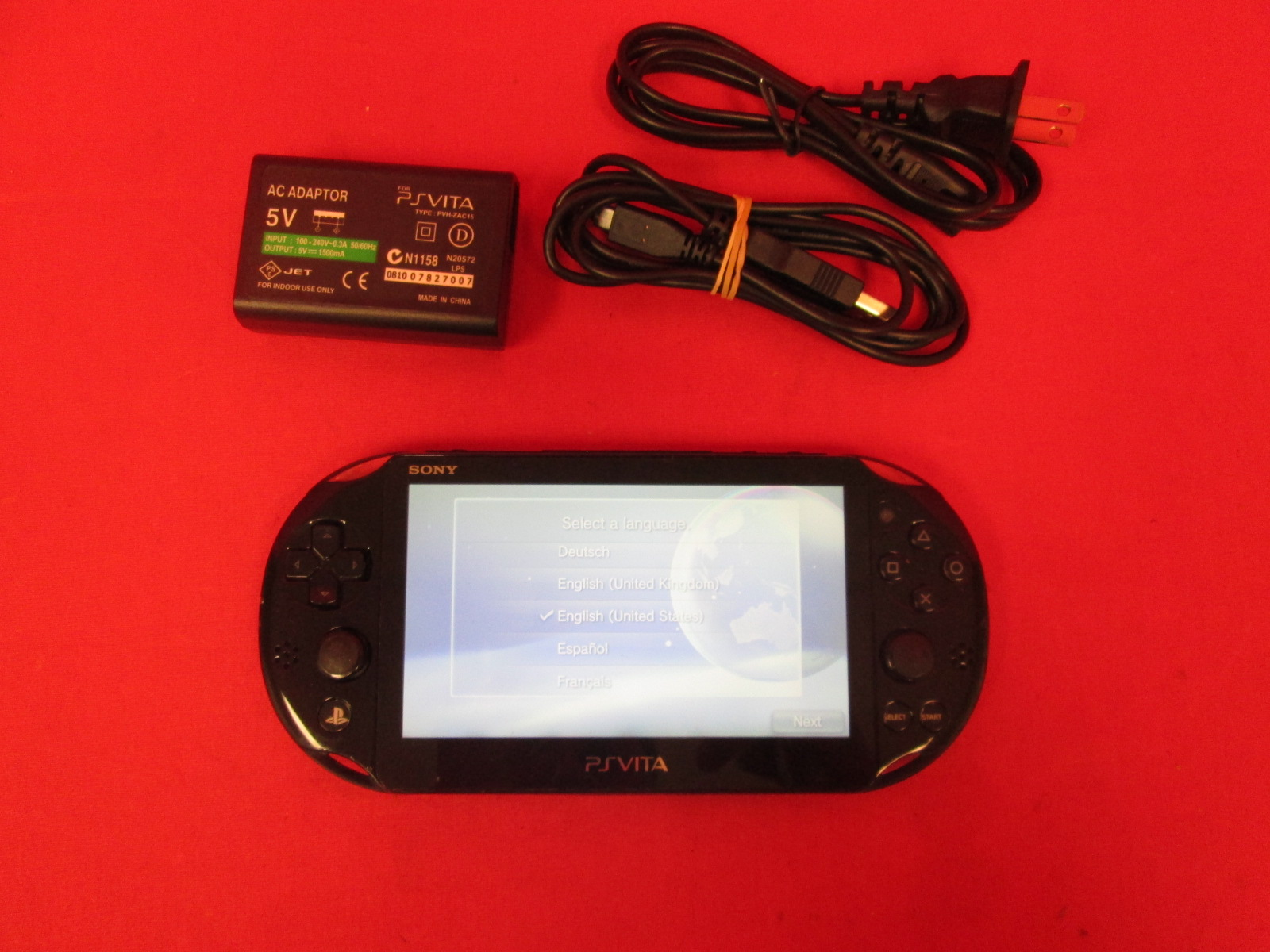 Image 0 of Sony PlayStation Vita Wifi Portable Handheld Console