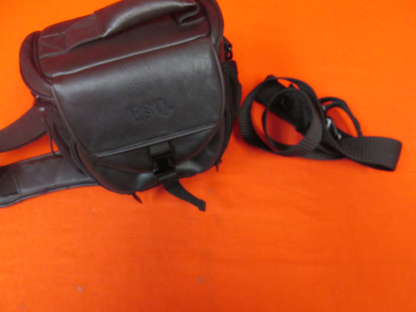 Esq Leather Tote Bag For Camera Travel Case