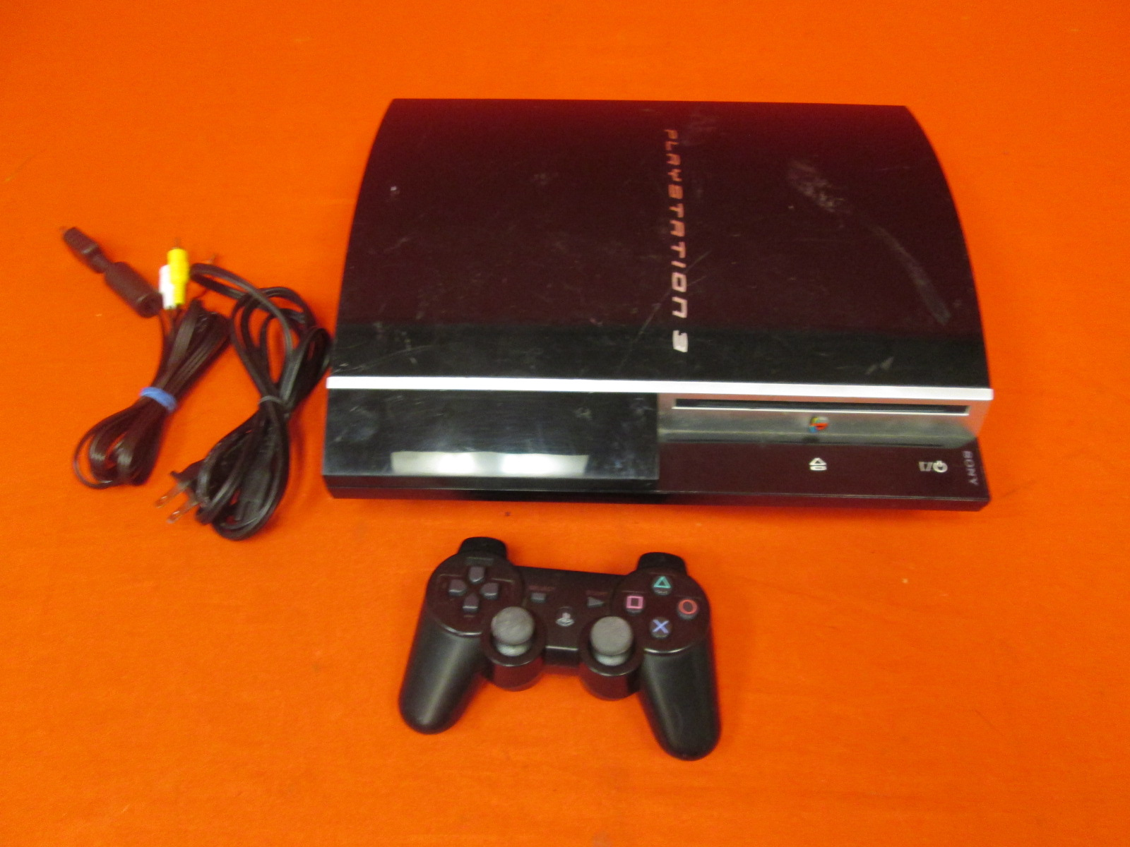 Sony PlayStation 3 CECHL01 System Video Game System With Controller No