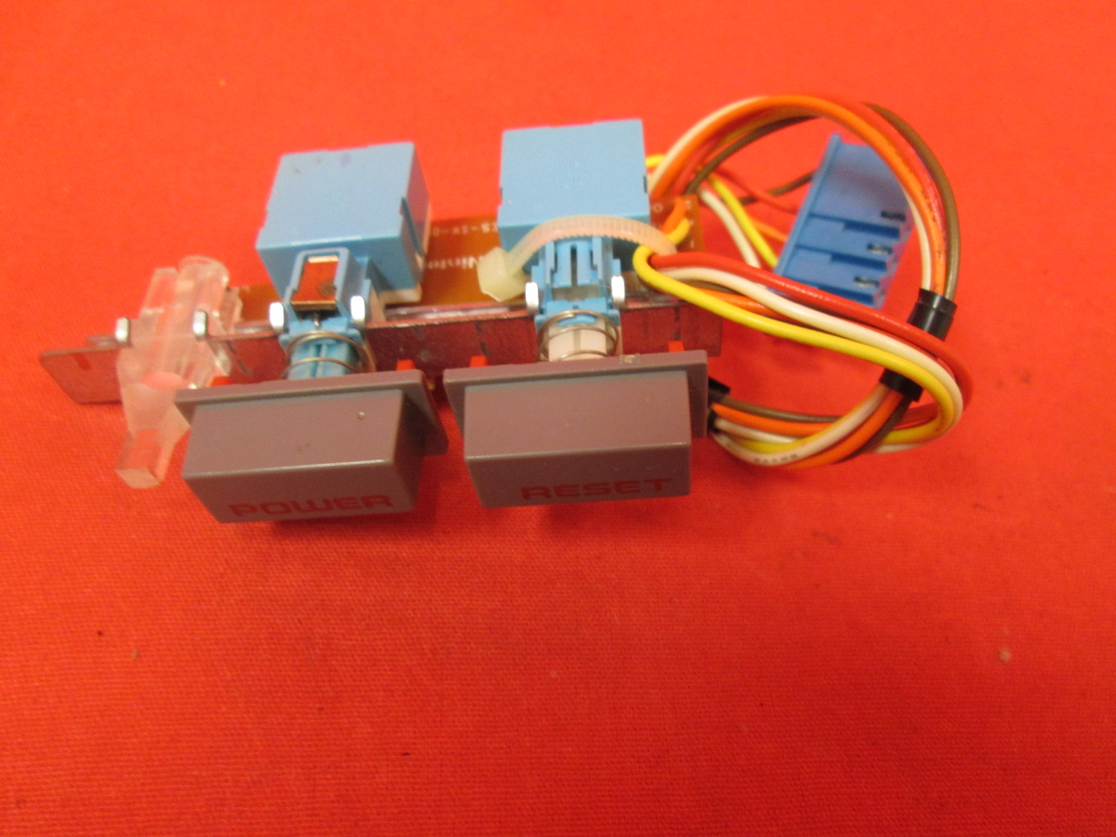 Replacement Nintendo OEM Power / Reset PCB Button With Wire Harness