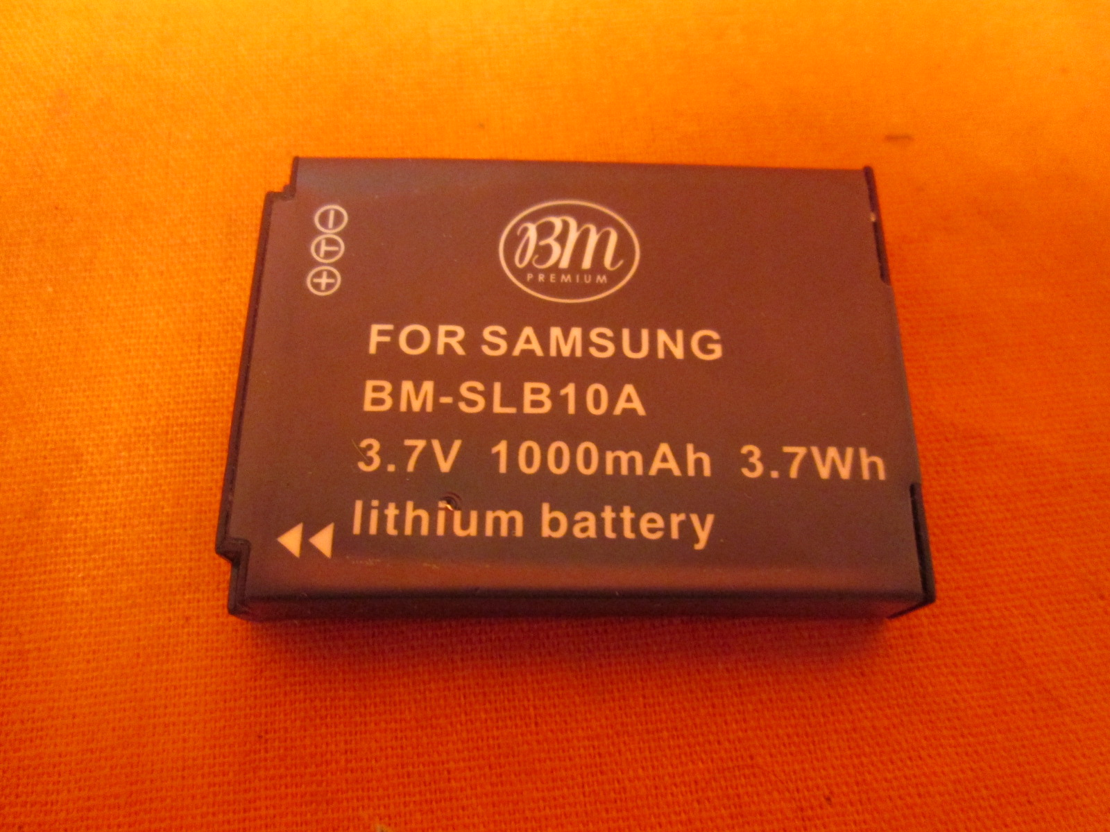 Big Mike's BM-SLB10A Battery For Select Samsung Digital Cameras