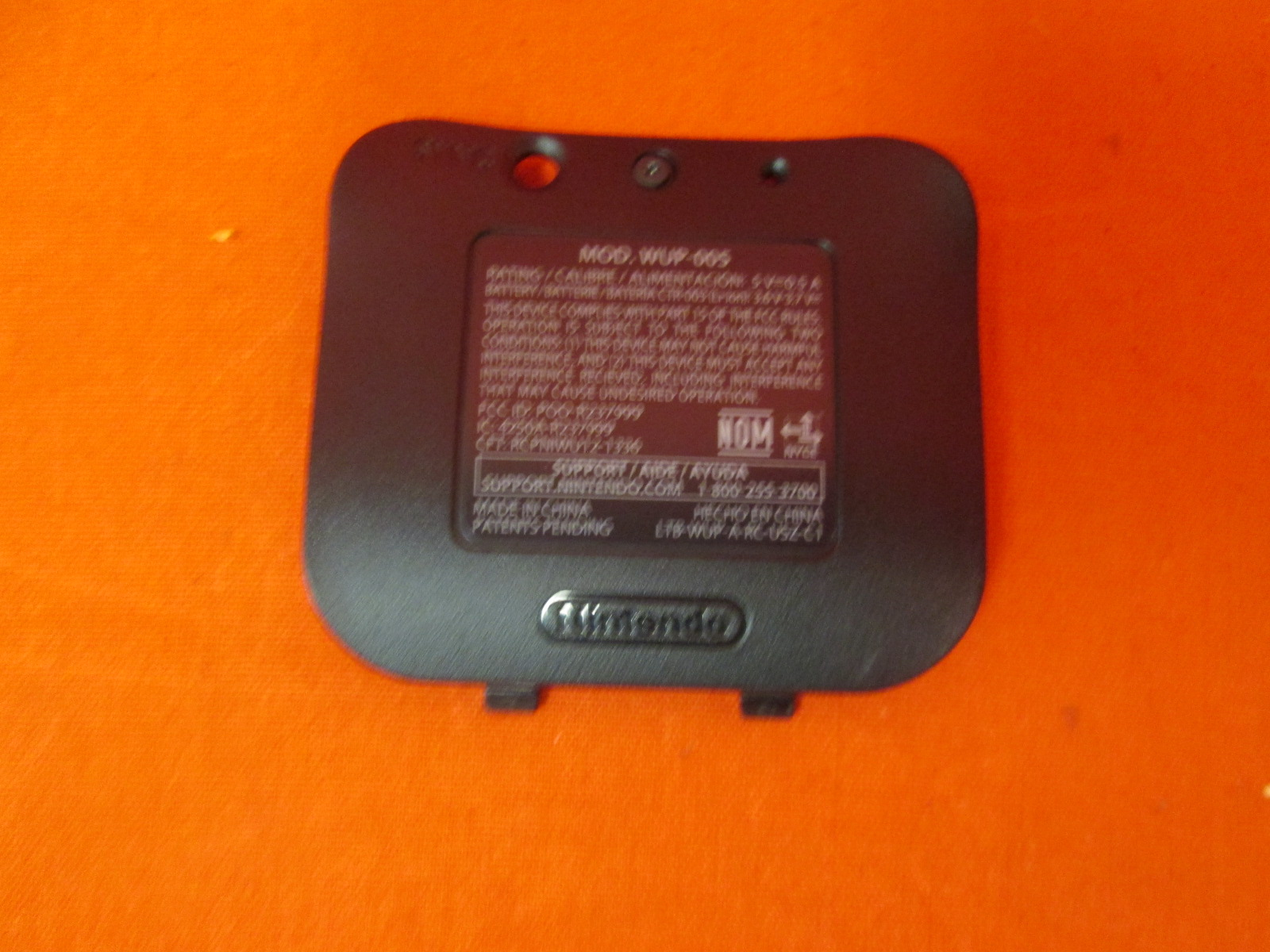 Replacement Battery Cover For Nintendo OEM Pro Controller Black For