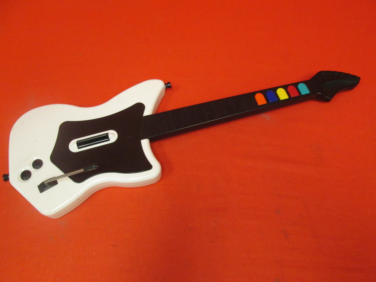 Red Octane Guitar Hero Wireless Guitar White For PlayStation 2
