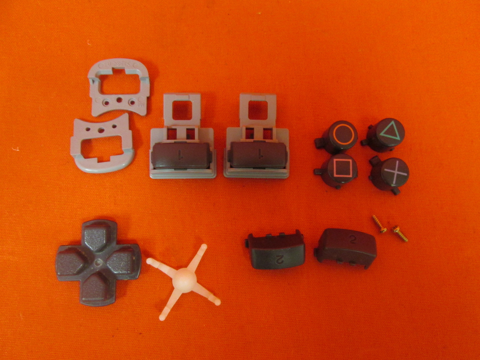 Image 0 of Replacement Sony OEM Button Set For PlayStation 1 Controllers