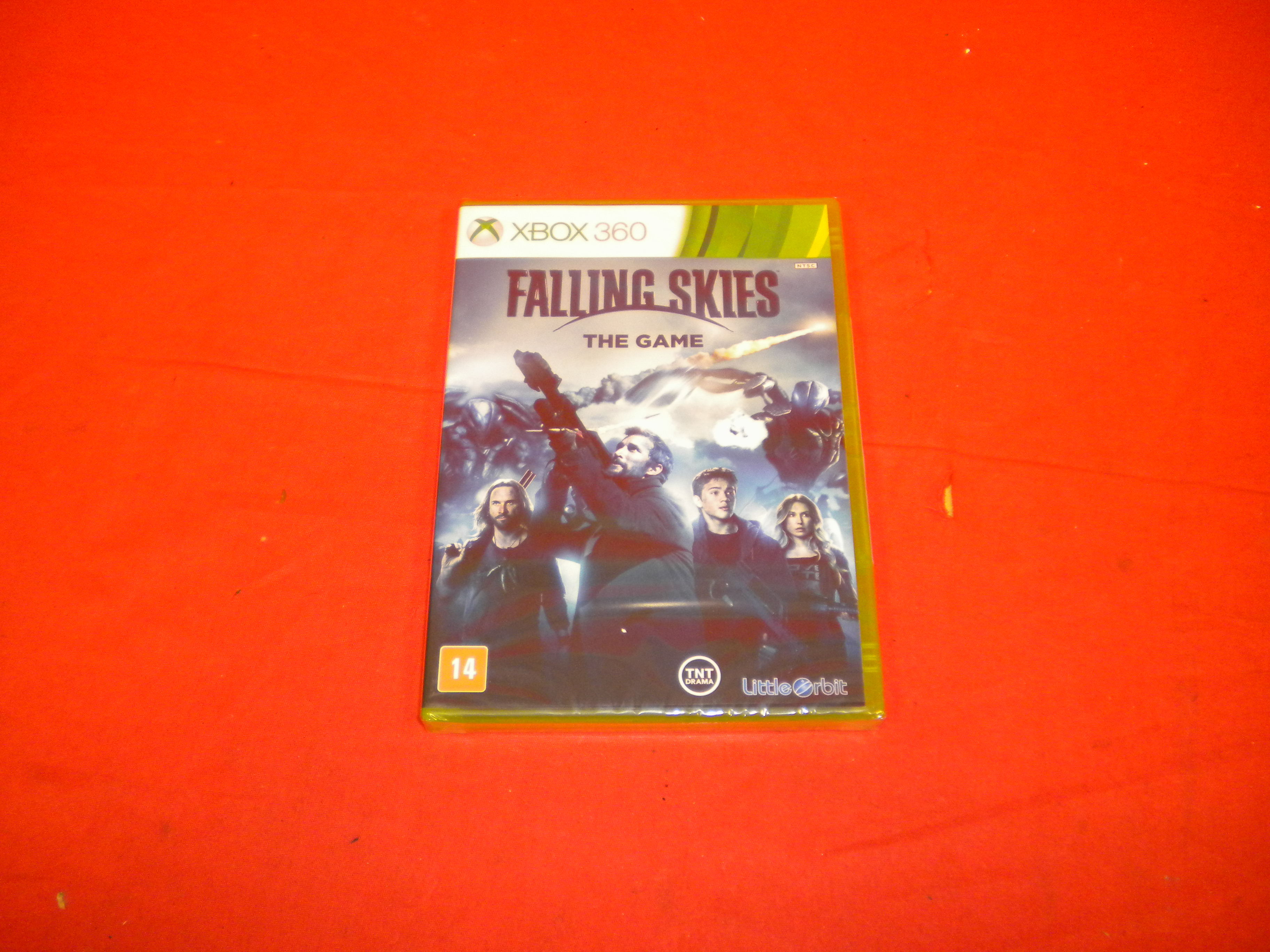 Falling Skies The Game For Xbox 360 Spanish Version