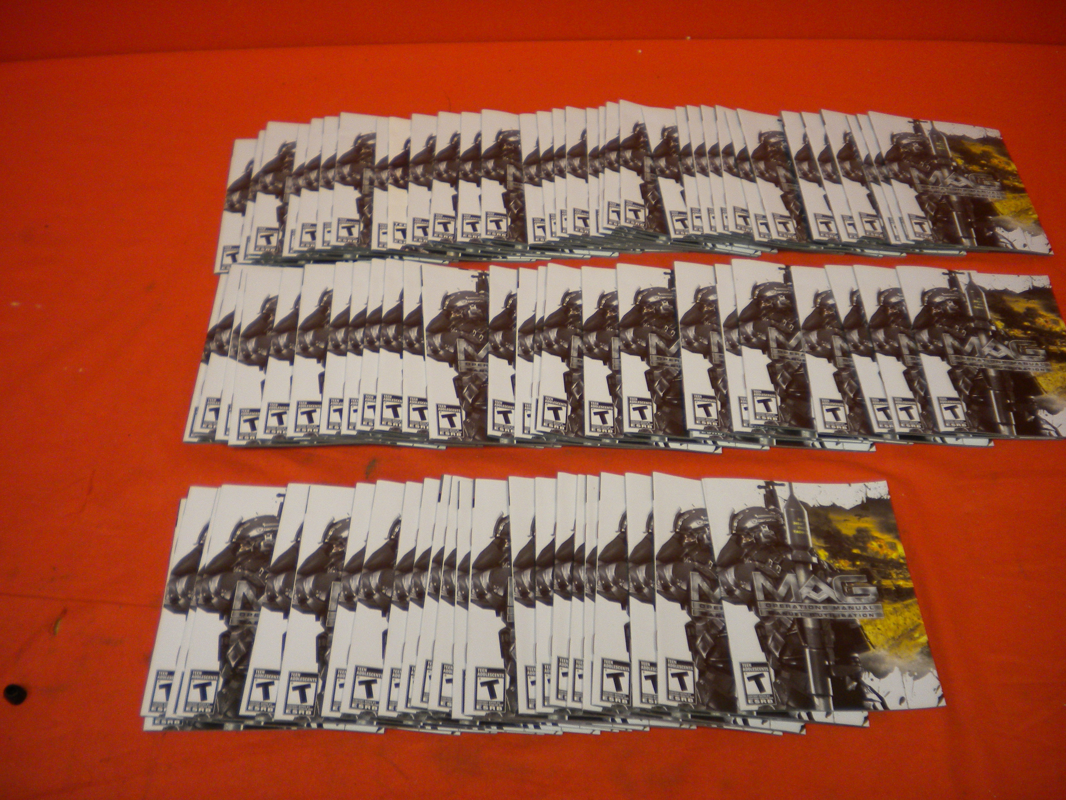Lot Of 90 Mag Manuals For PS3 For PlayStation 3