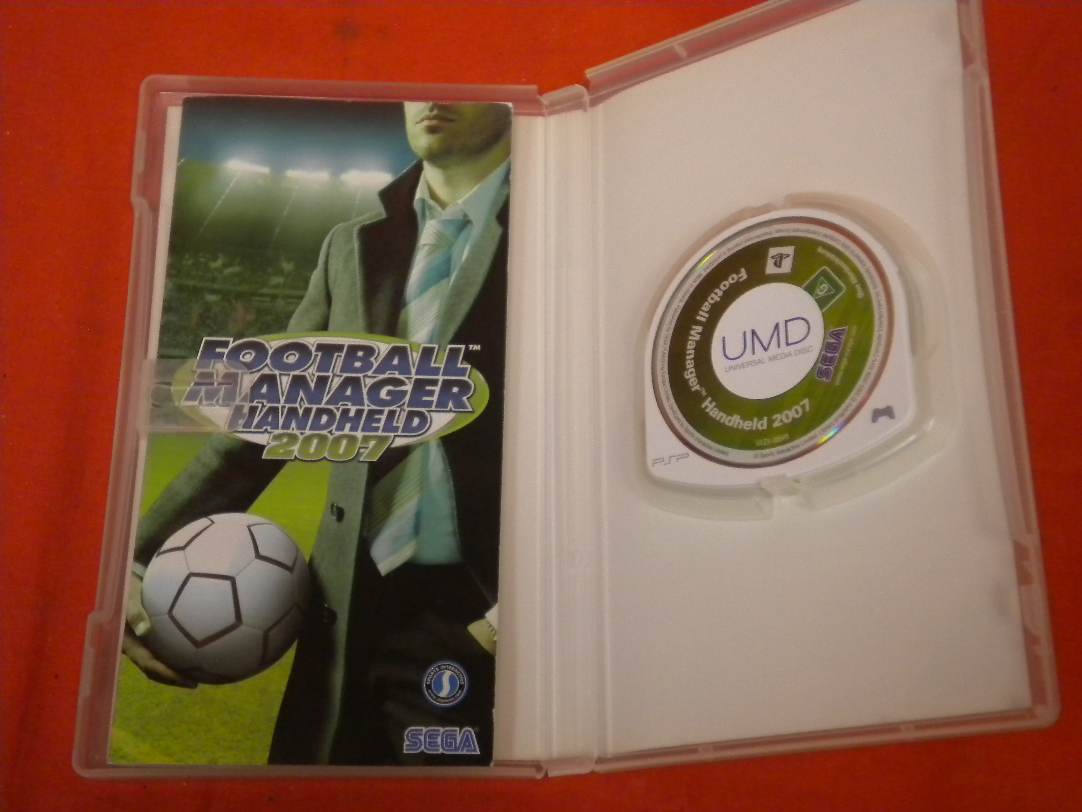 Football Manager Handheld 2007 PAL For PSP