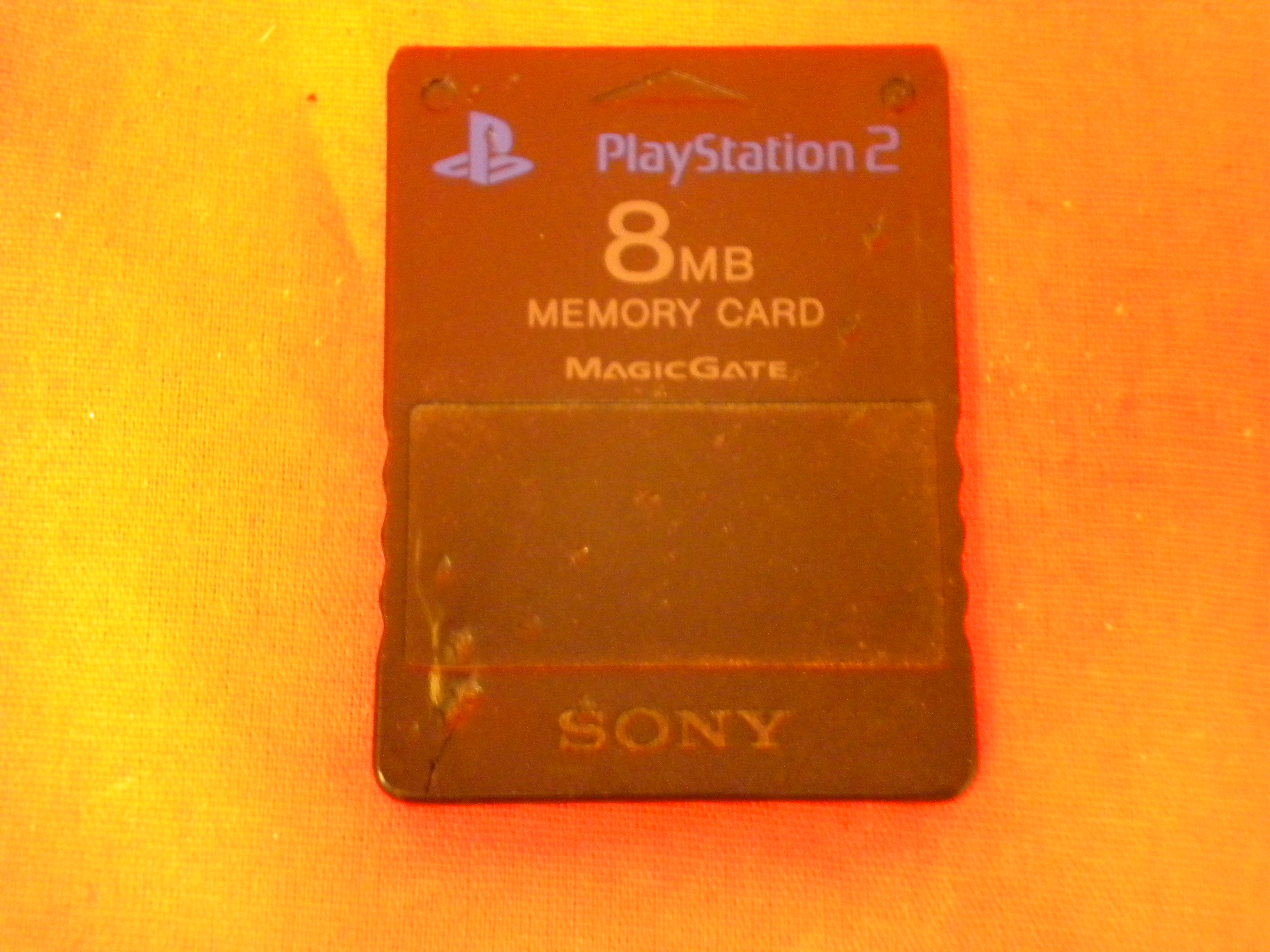 8MB Memory Card For PS2 For PlayStation 2