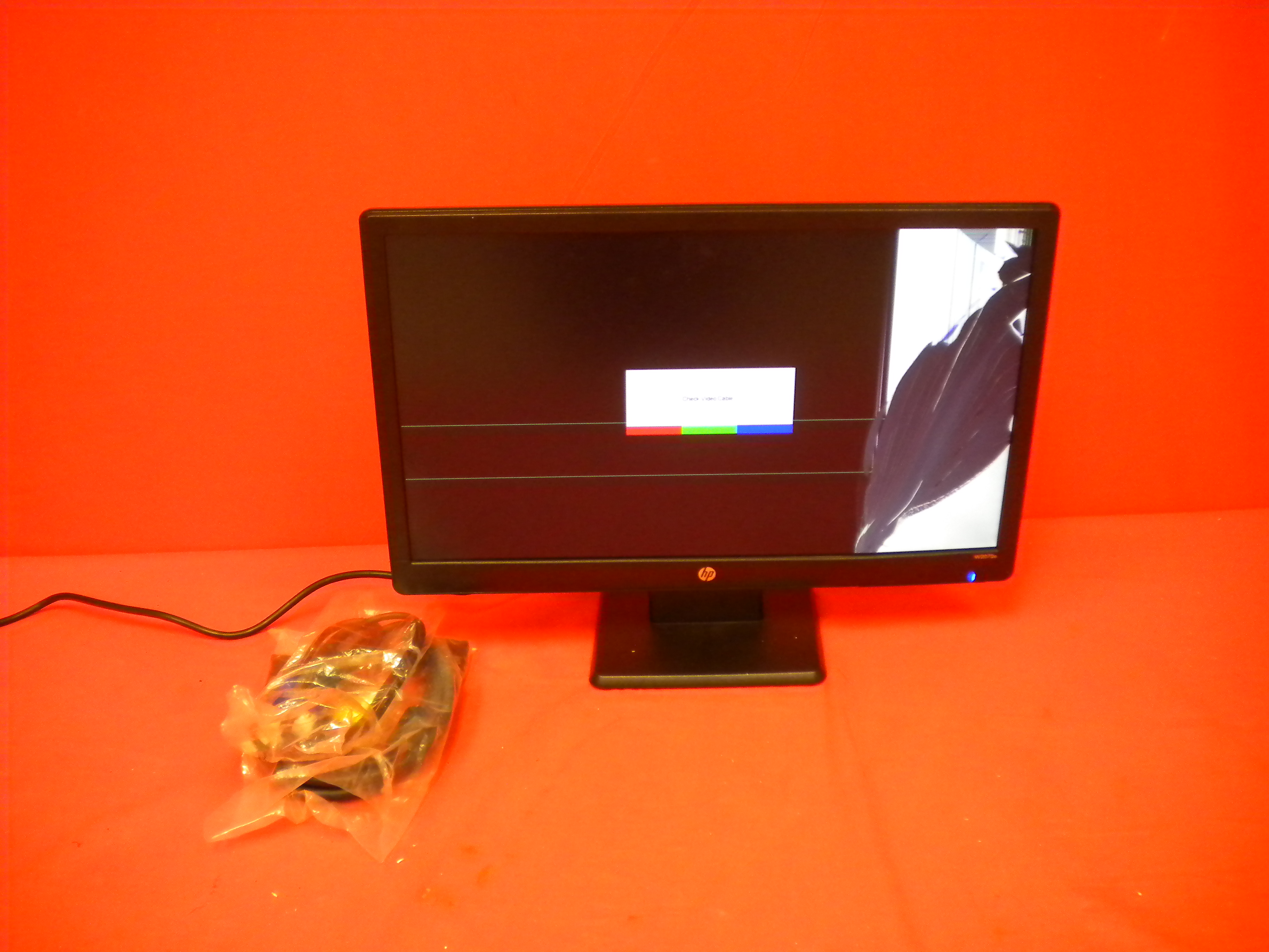 Broken HP W2082A 20-inch LED Backlit LCD Monitor