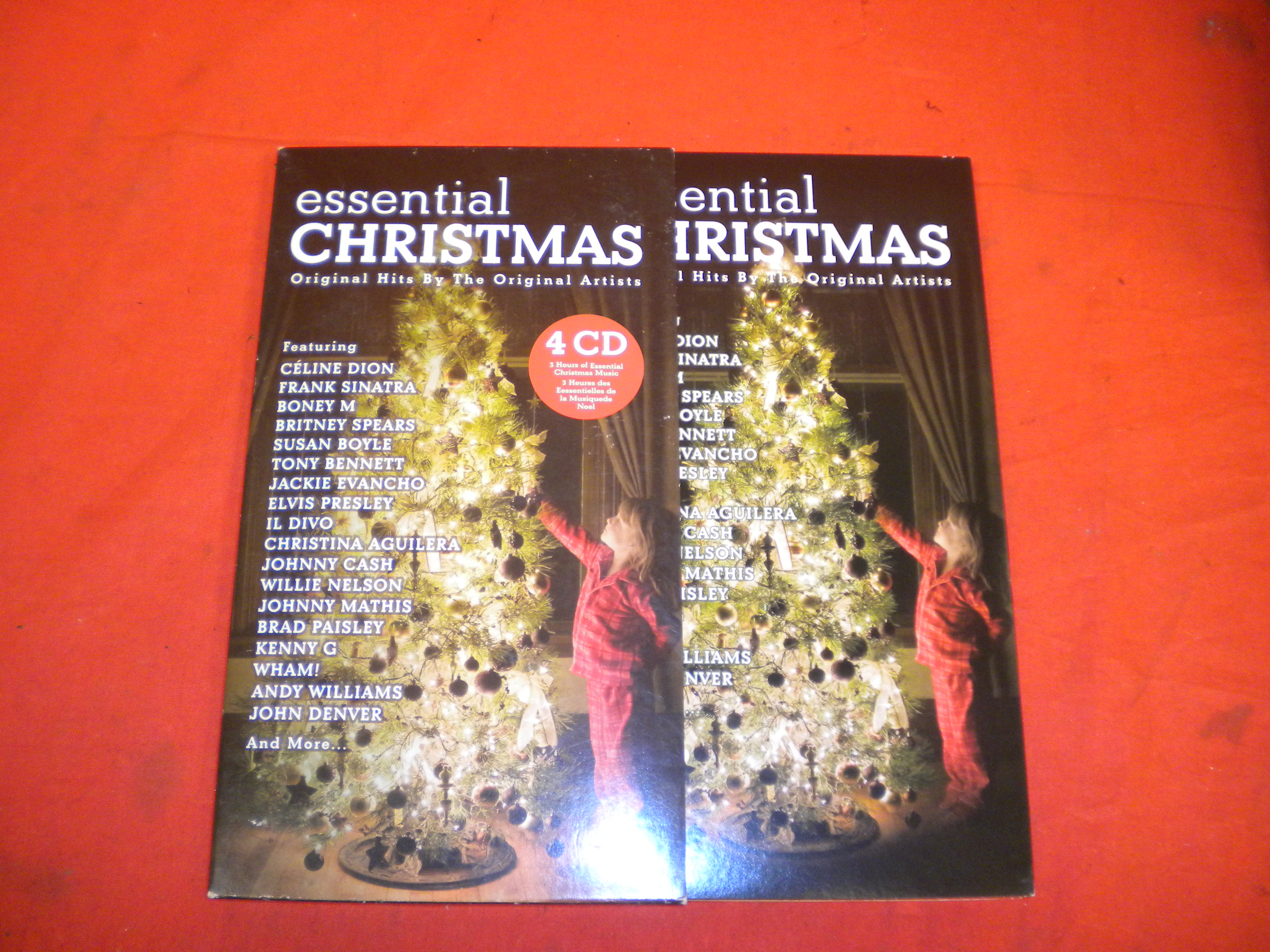 Essential Christmas By Various On Audio CD Incomplete