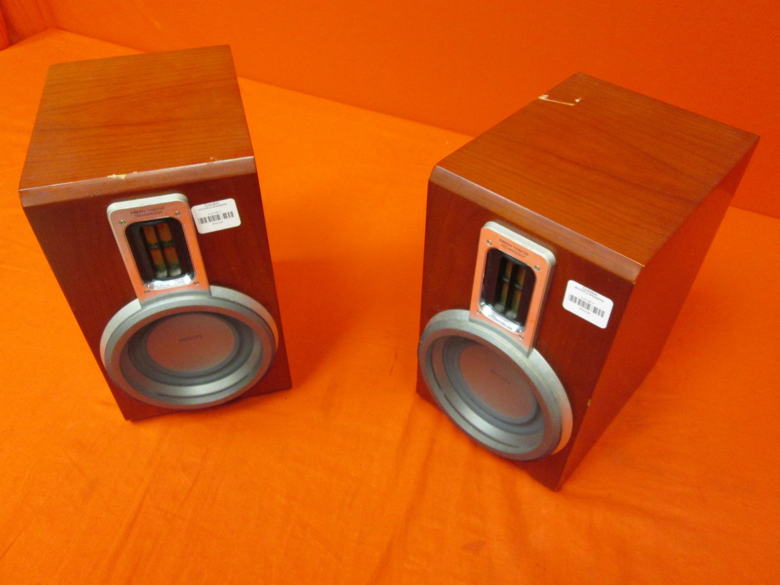2 Replacement Philips MCD708 Micro Home Theater System Speakers