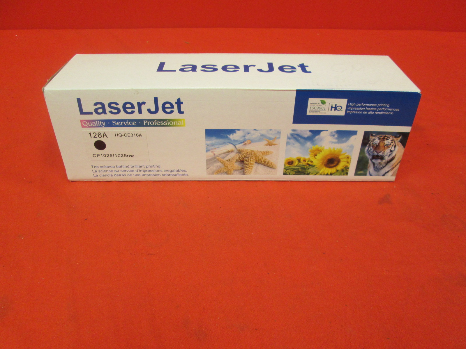Laser Jet Toner Ink Cartridge HQ-CE310A Black