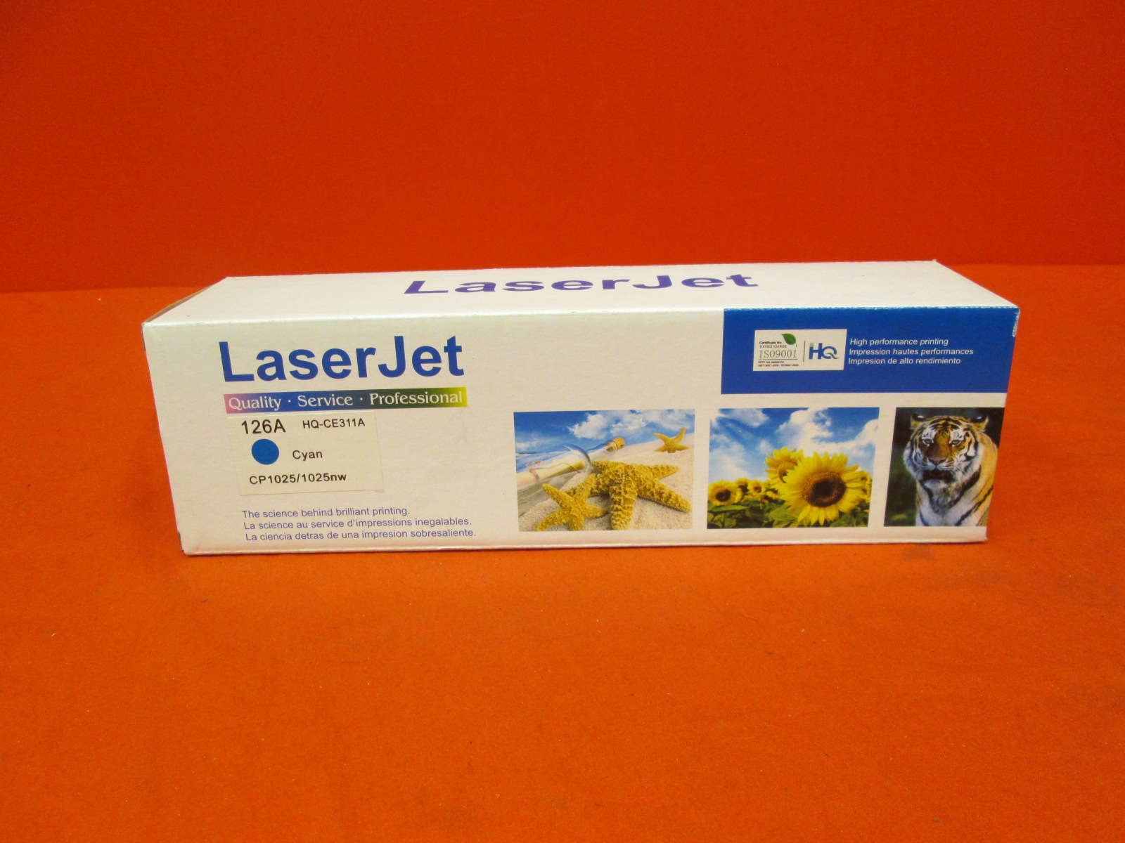 Laser Jet Toner Ink Cartridge HQ-CE311A Cyan
