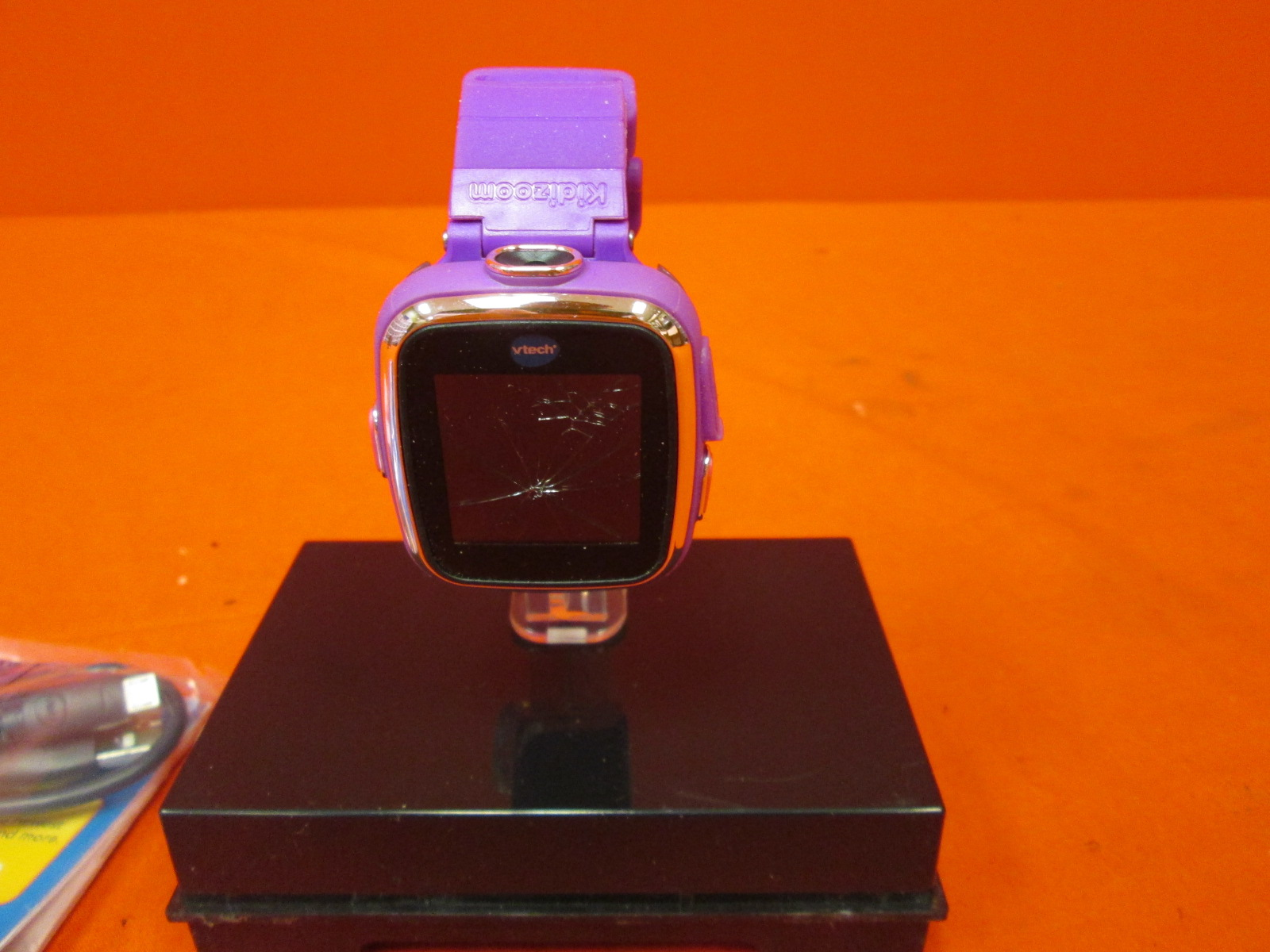 Broken Vtech Kidizoom Smartwatch DX Violet Wristband Watch
