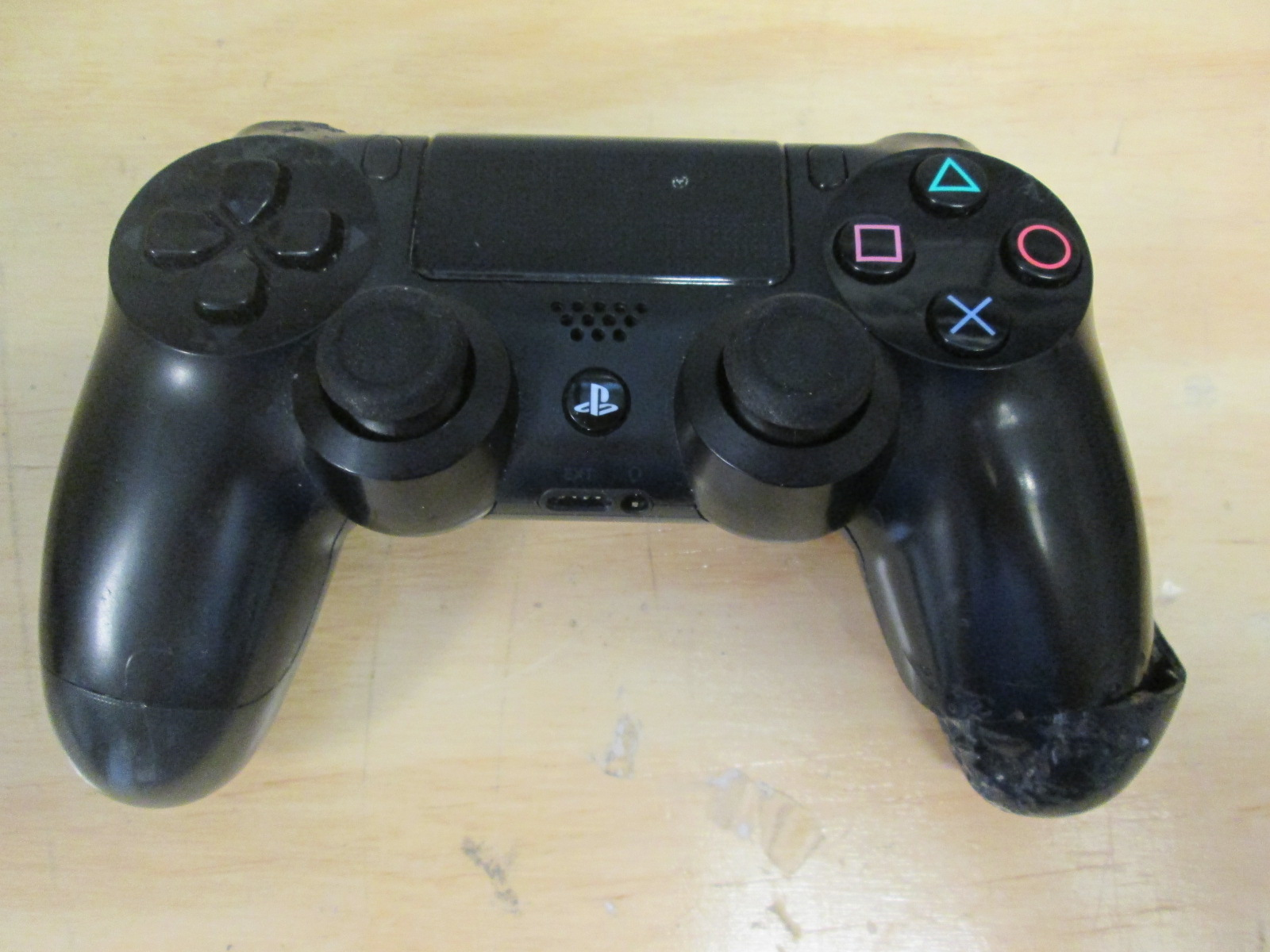 Broken Sony Dualshock 4 Wireless Controller For PlayStation 4 Jet