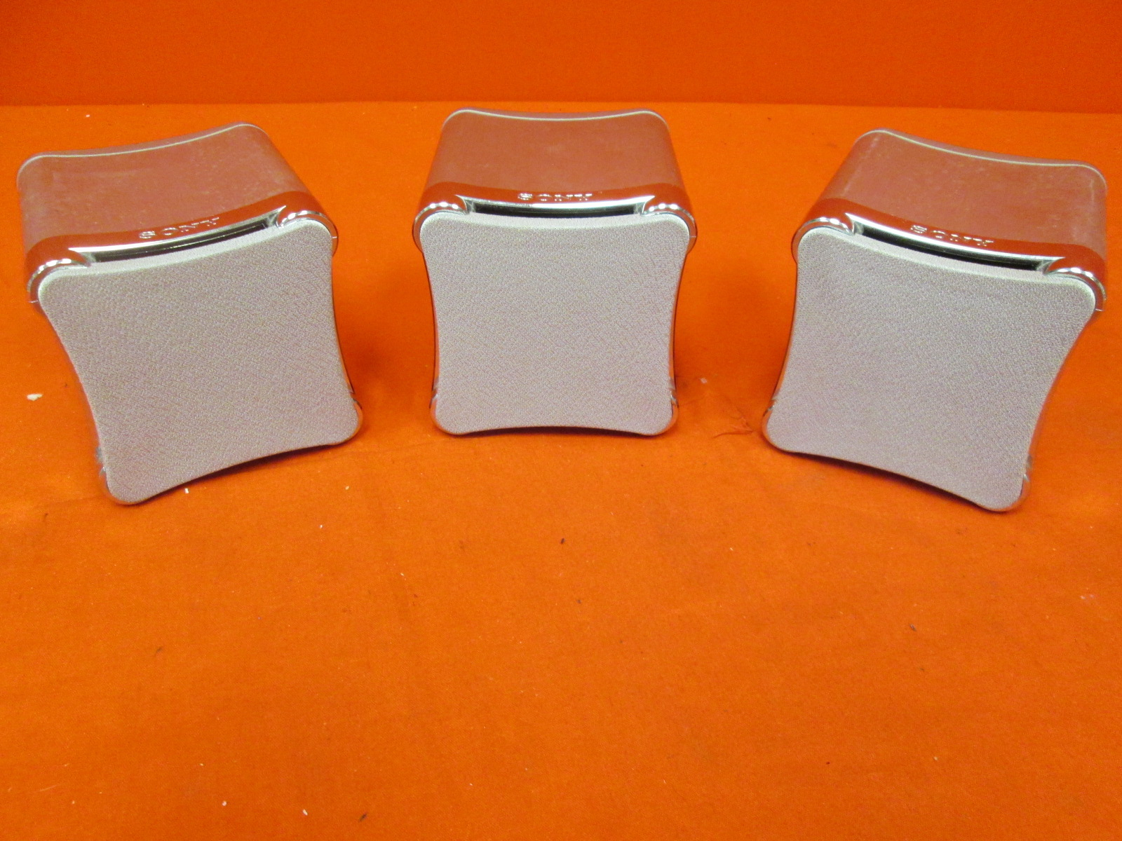5 Sony SS-TS503 Surround Sound Speakers Incomplete