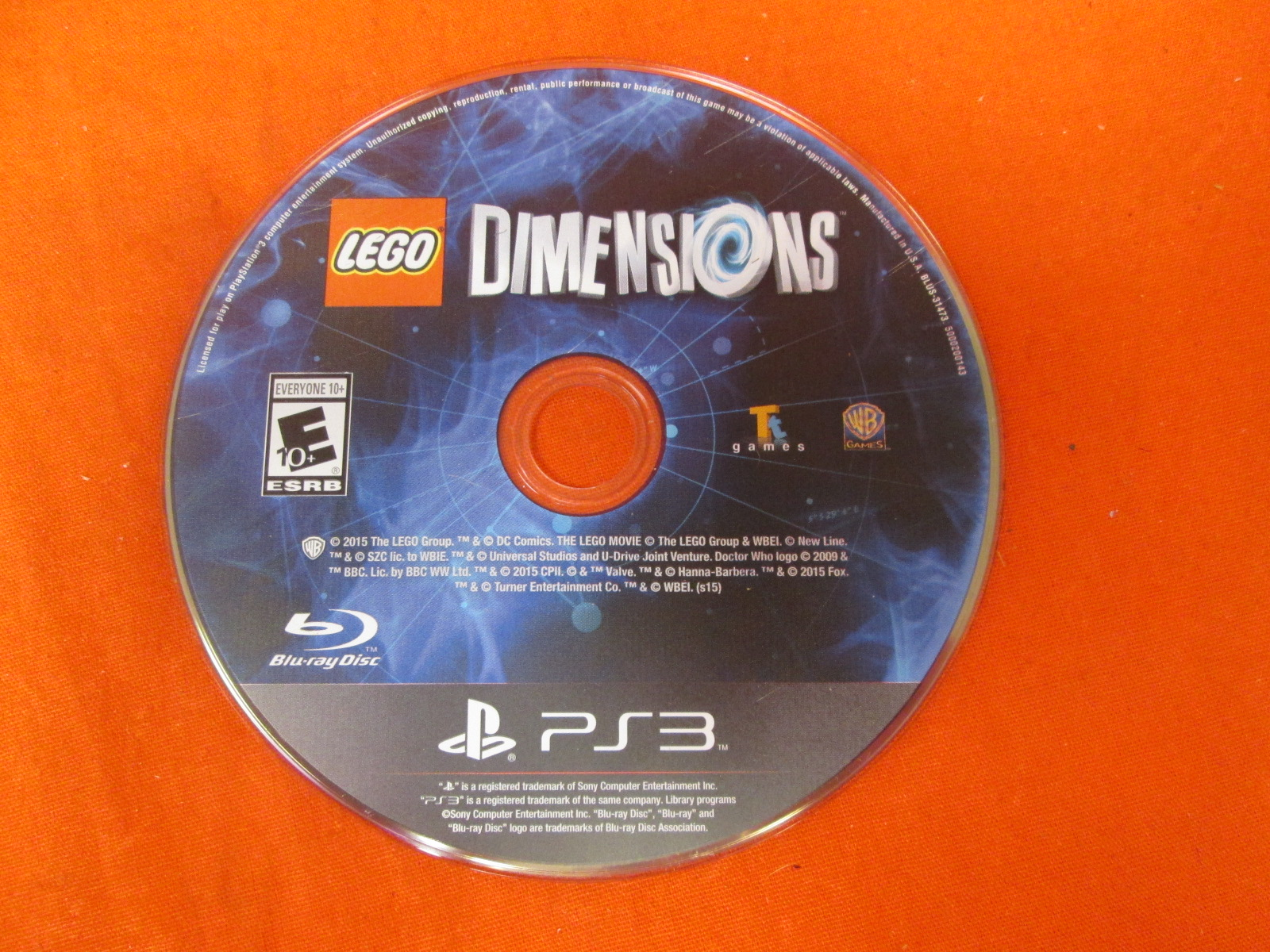 Lego Dimensions Starter Pack For PlayStation 3 Replacement Disc Only