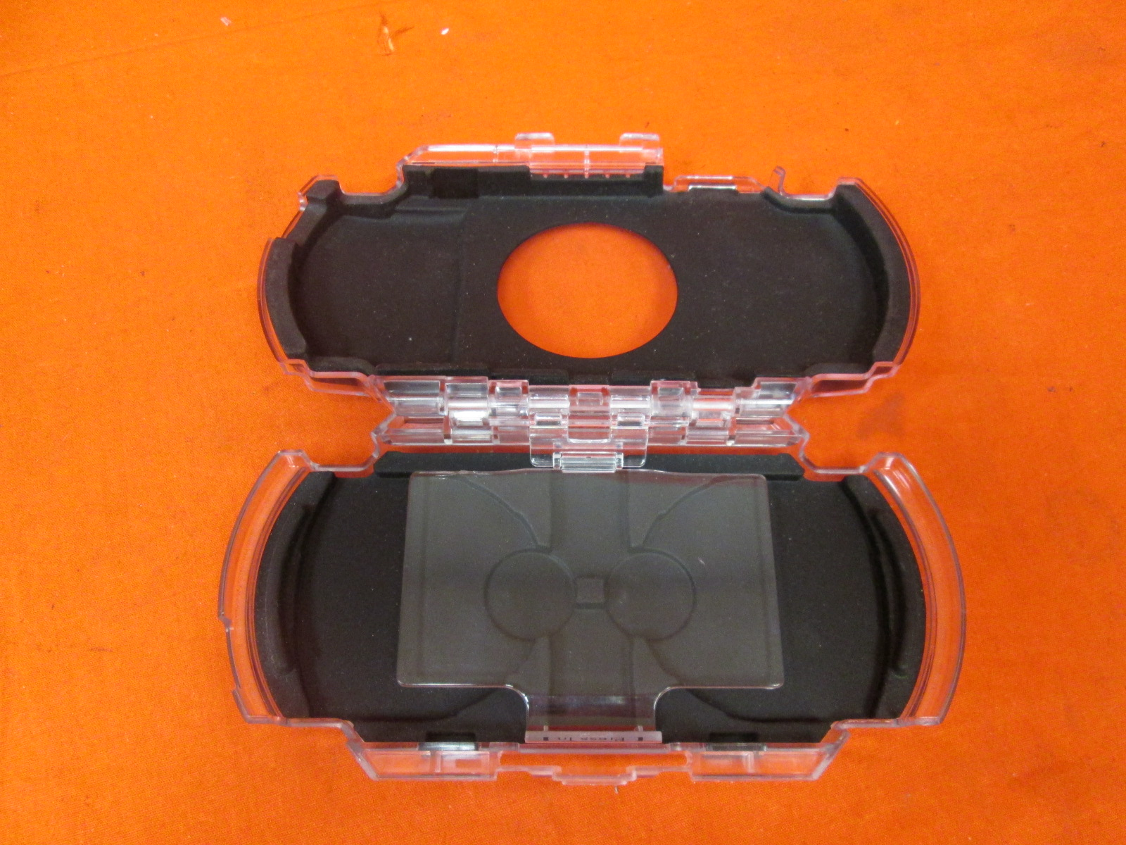 Protector Cover Crystal Clear Plastic Hard Case Shield For PSP 1000