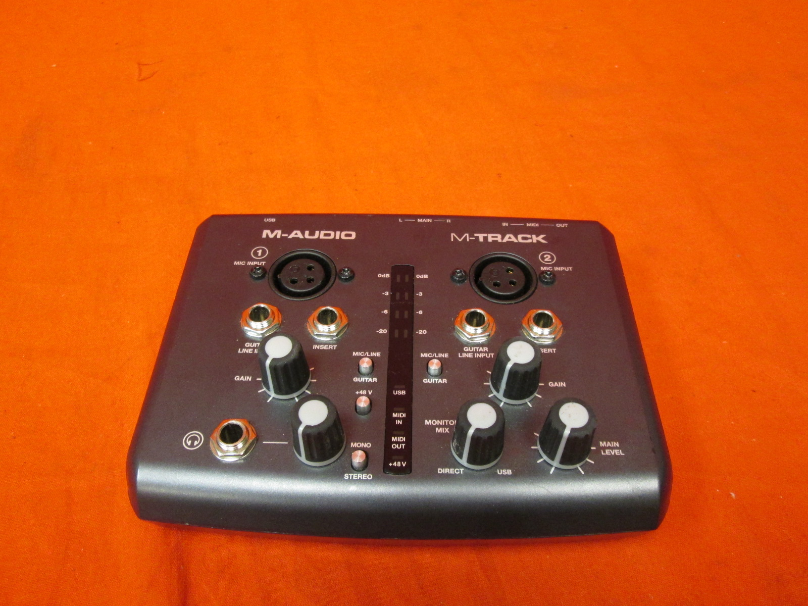 m audio m track plus manual