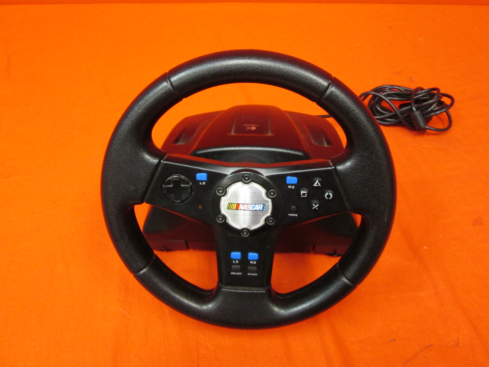 Logitech NASCAR Racing Wheel For PlayStation 2