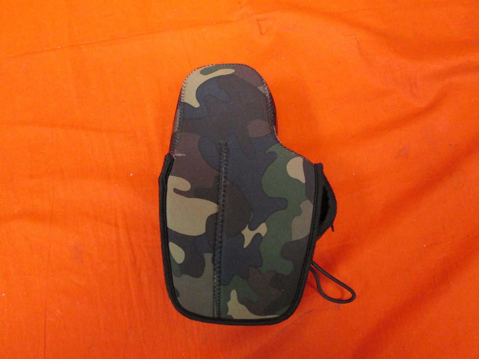 One Neoprene Soft Pouch Camera Case For DSLR Cameras Camouflage