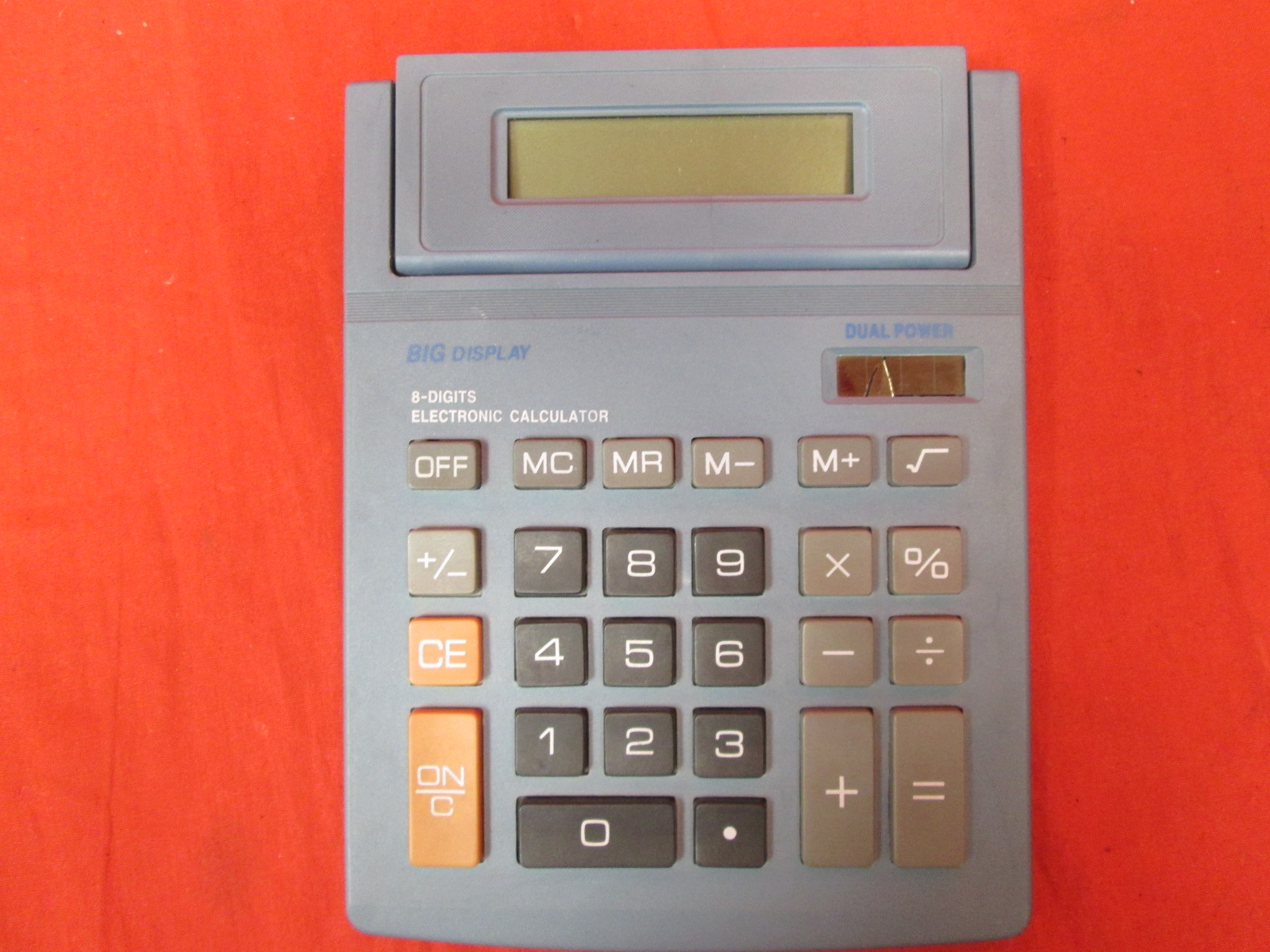 Standard Function Desktop Calculator With Large Buttons