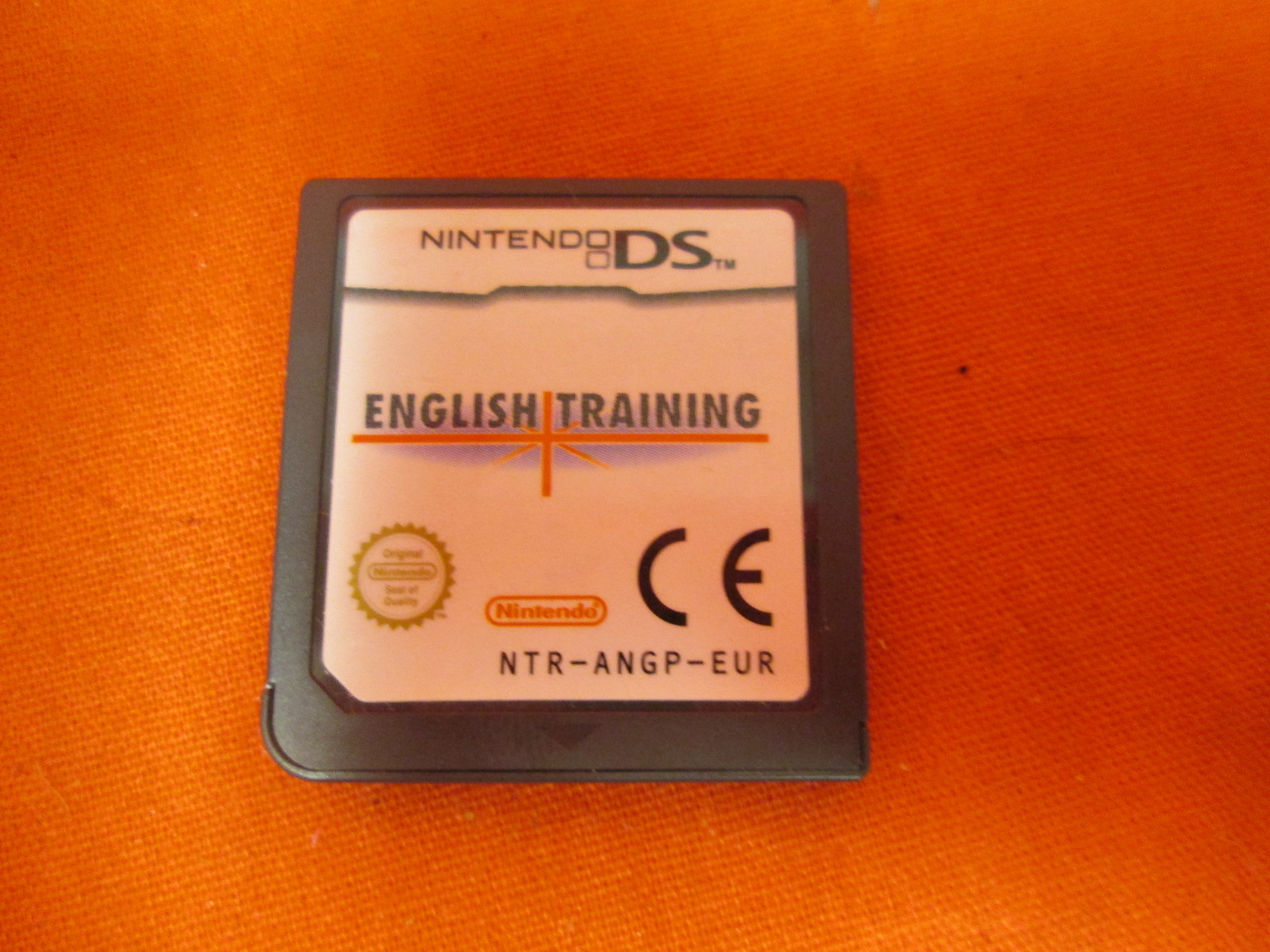 English Training Nintendo DS PAL
