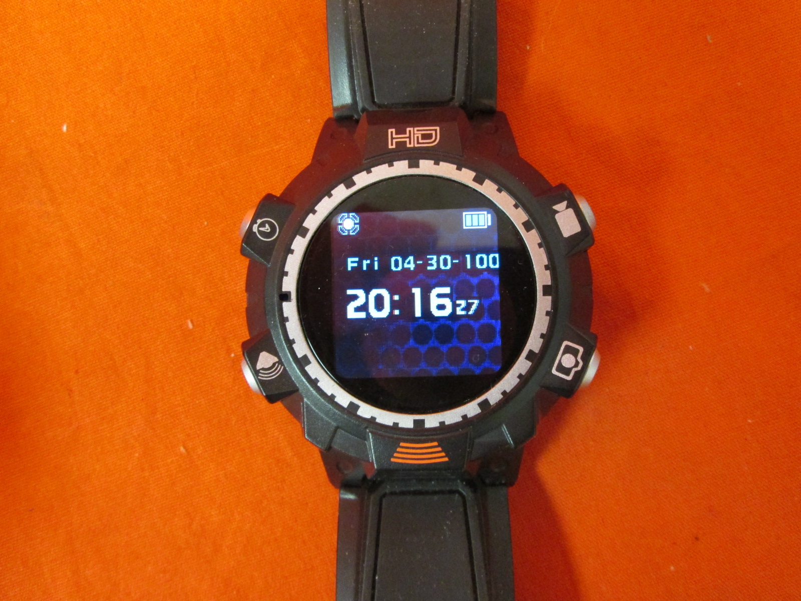 2GB HD Jakks Pacific Video Watch Black Edition Spy Surveillance