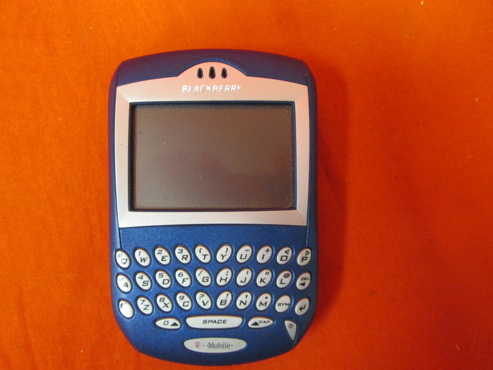 BlackBerry 7230 Phone T-Mobile Network No Battery