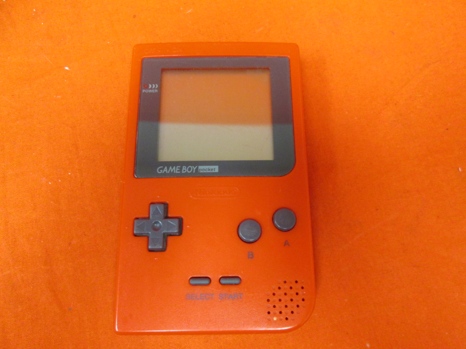 Nintendo Game Boy Pocket Red Handheld Console