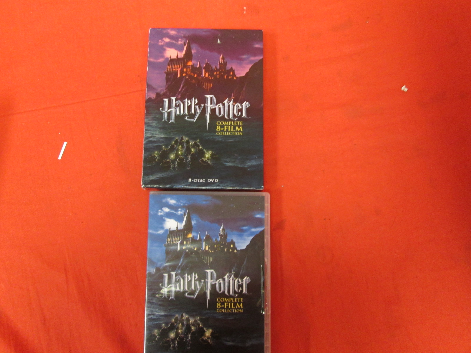 Harry Potter: The Complete 8-FILM Collection On DVD With Daniel