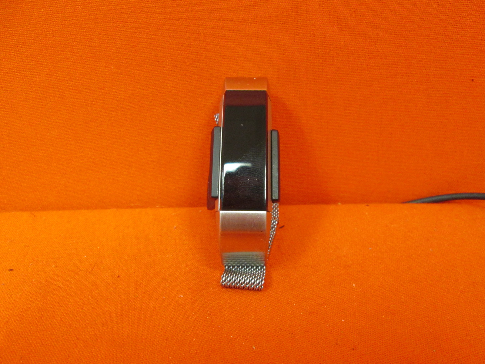 Image 0 of Fitbit Alta Fitness Tracker Silver/black Small With Silver Accessory