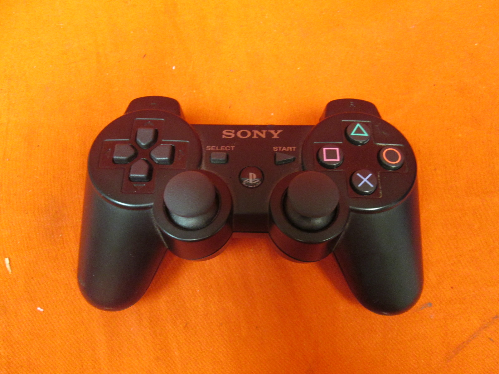 Official Authentic PlayStation 3 Dualshock Wireless Controller Black