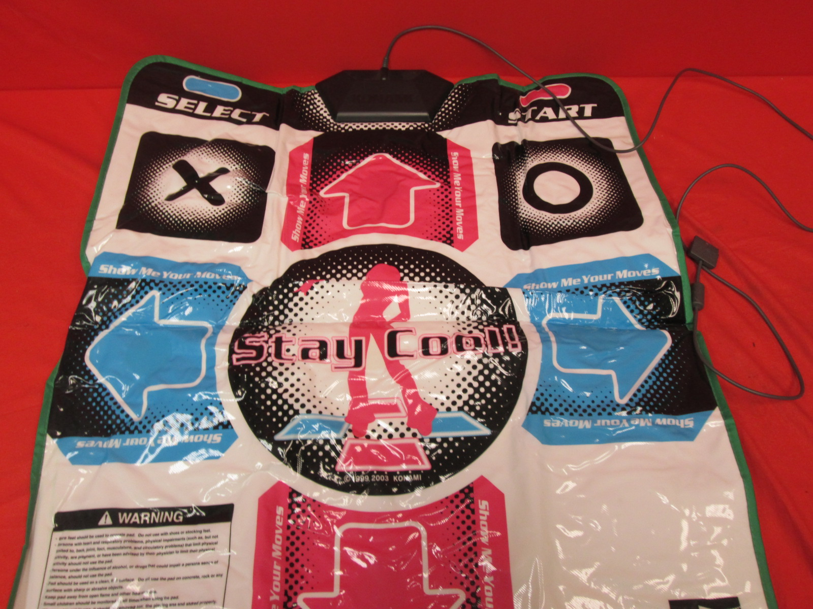 DDR Dance Pad For PlayStation 2