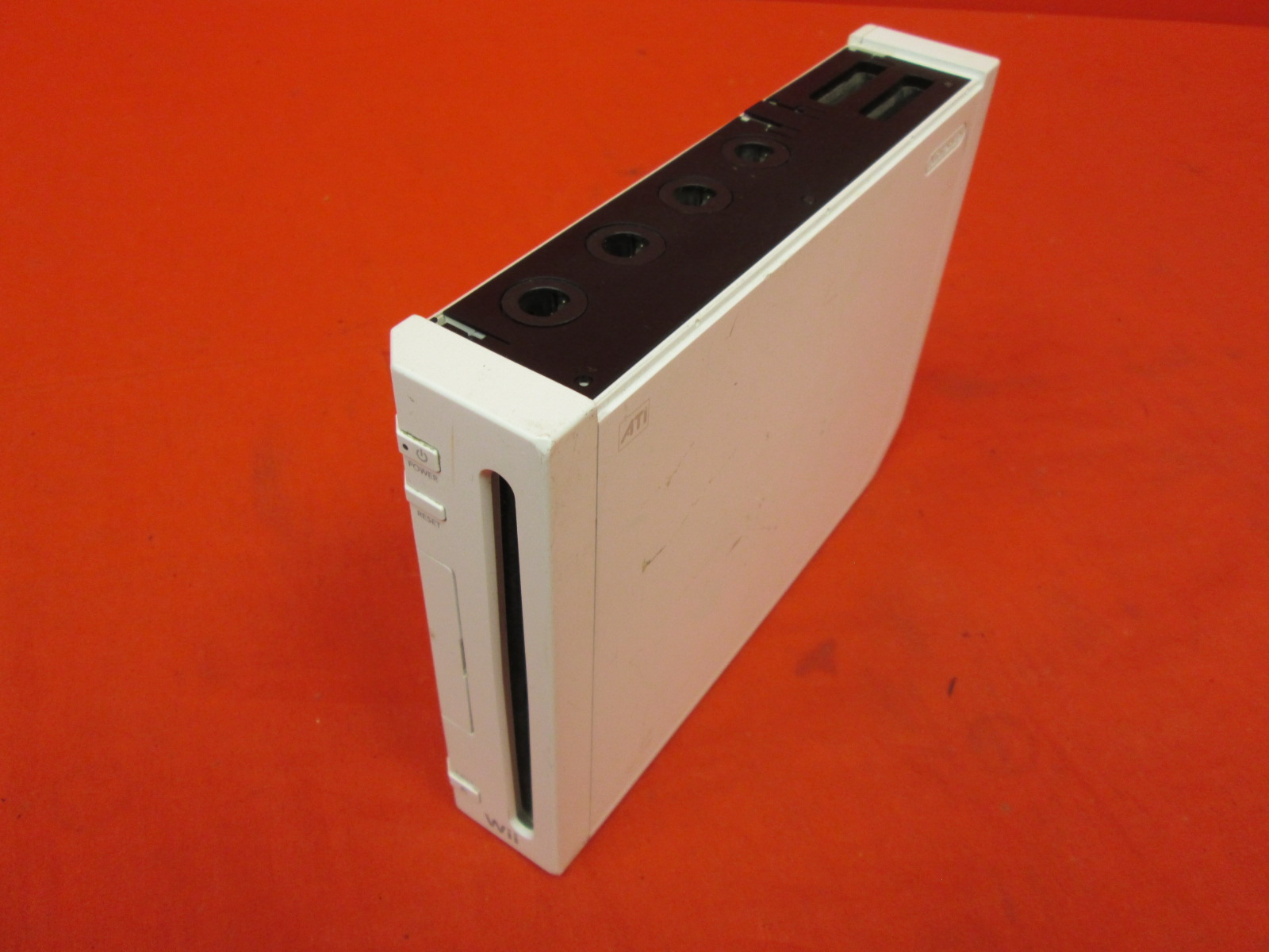 Image 1 of Nintendo Wii Video Game Console With Wiimote Nunchuk Cables
