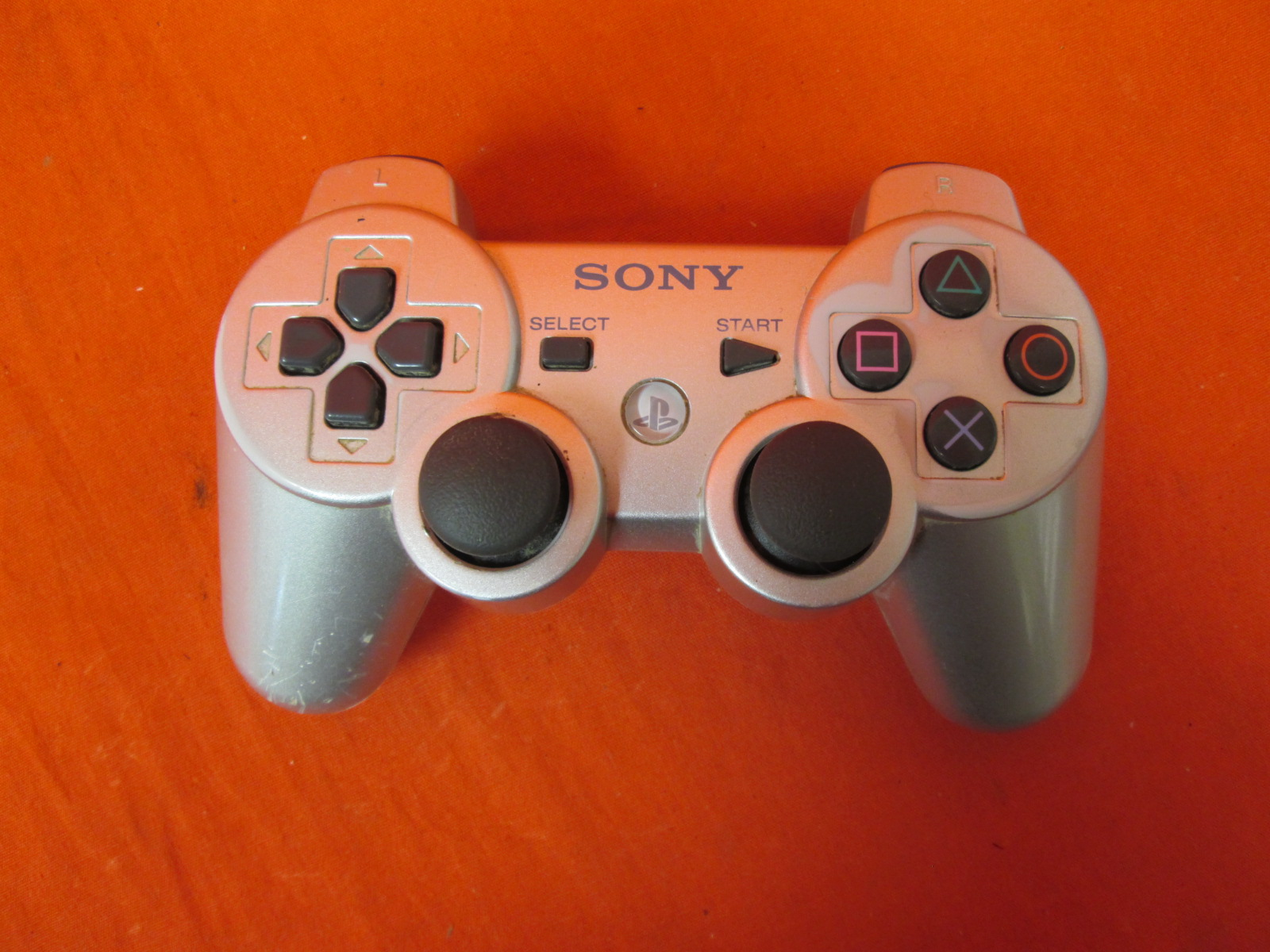 Dualshock 3 Wireless Controller Satin Silver For PlayStation 3 Remote