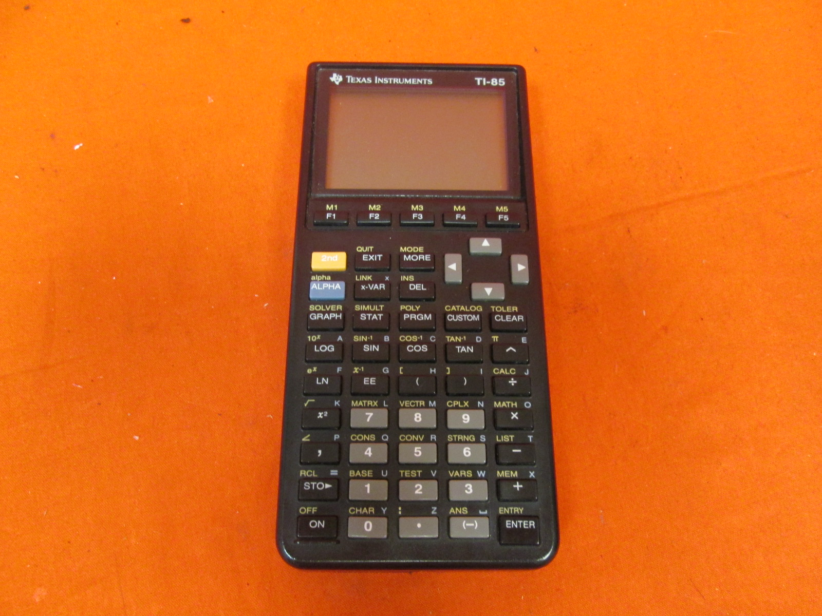 Broken Texas Instruments TI-85 Advanced Graphing Scientific Calculator