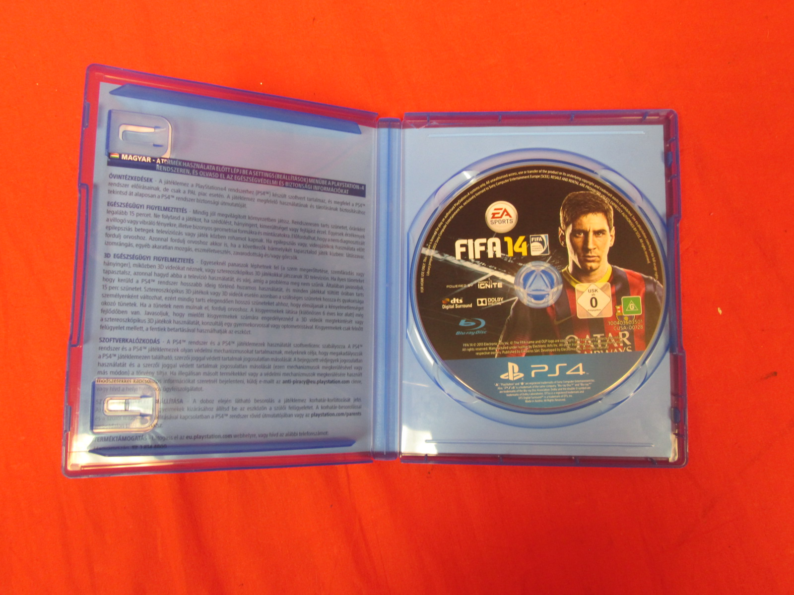 FIFA 14 For PlayStation 4 PAL Region 3