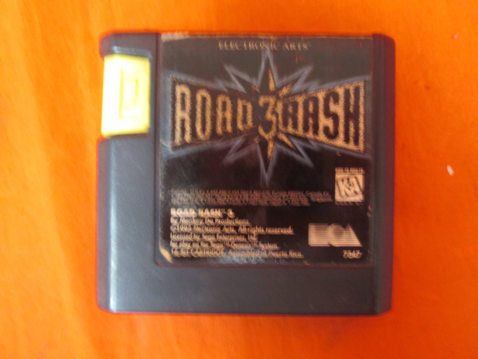 Road Rash III For Sega Genesis