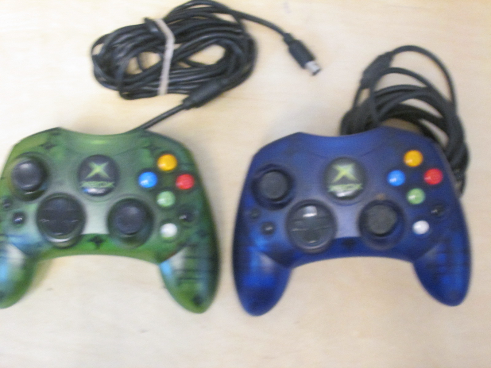 Lot Of 2 Xbox Controllers For Xbox Original