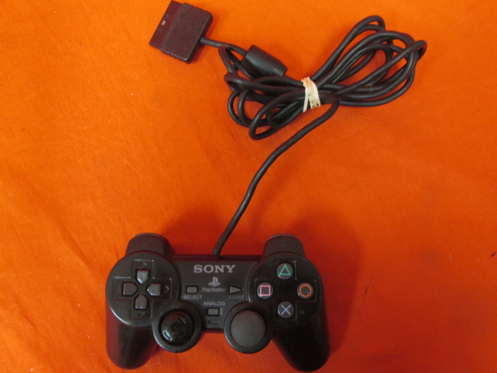 Dualshock Controller Black For PlayStation 2