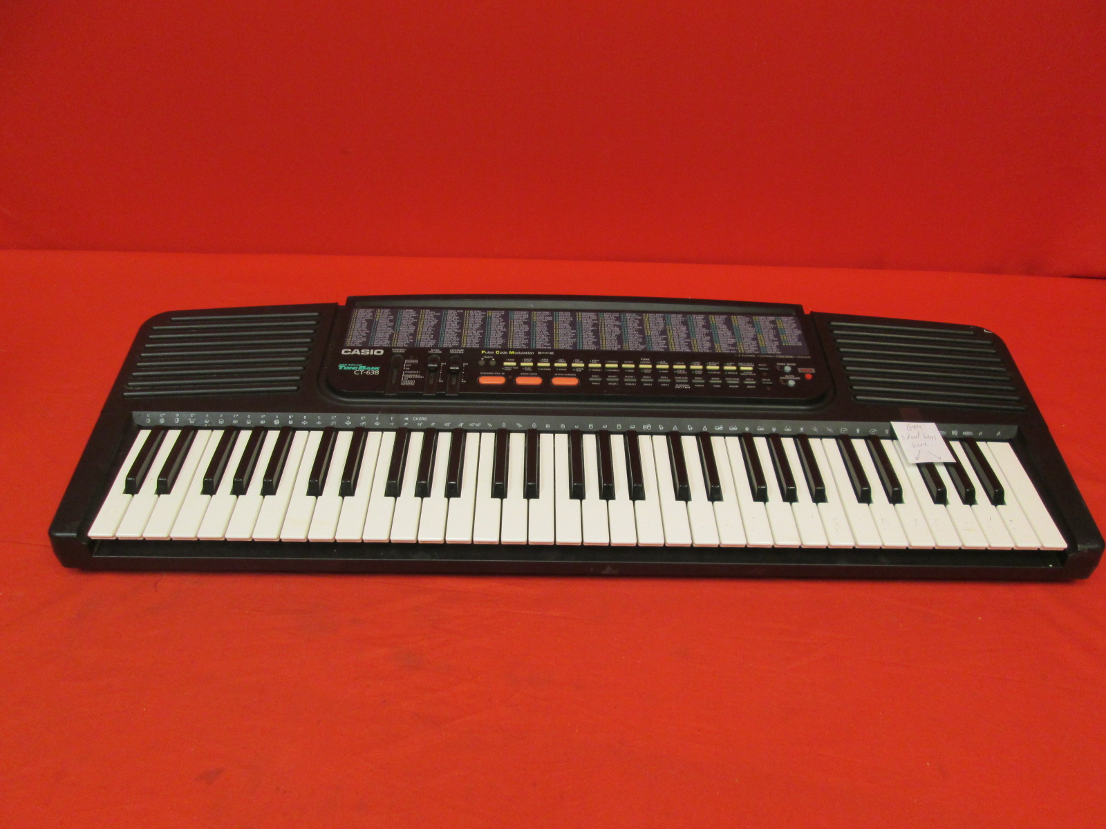 Casio CT-638 Electronic Tone Bank Keyboard