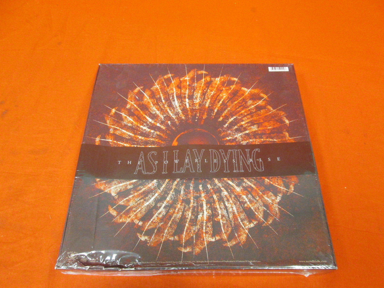 The Powerless Rise Super Deluxe Fan Box By As I Lay Dying On Audio CD