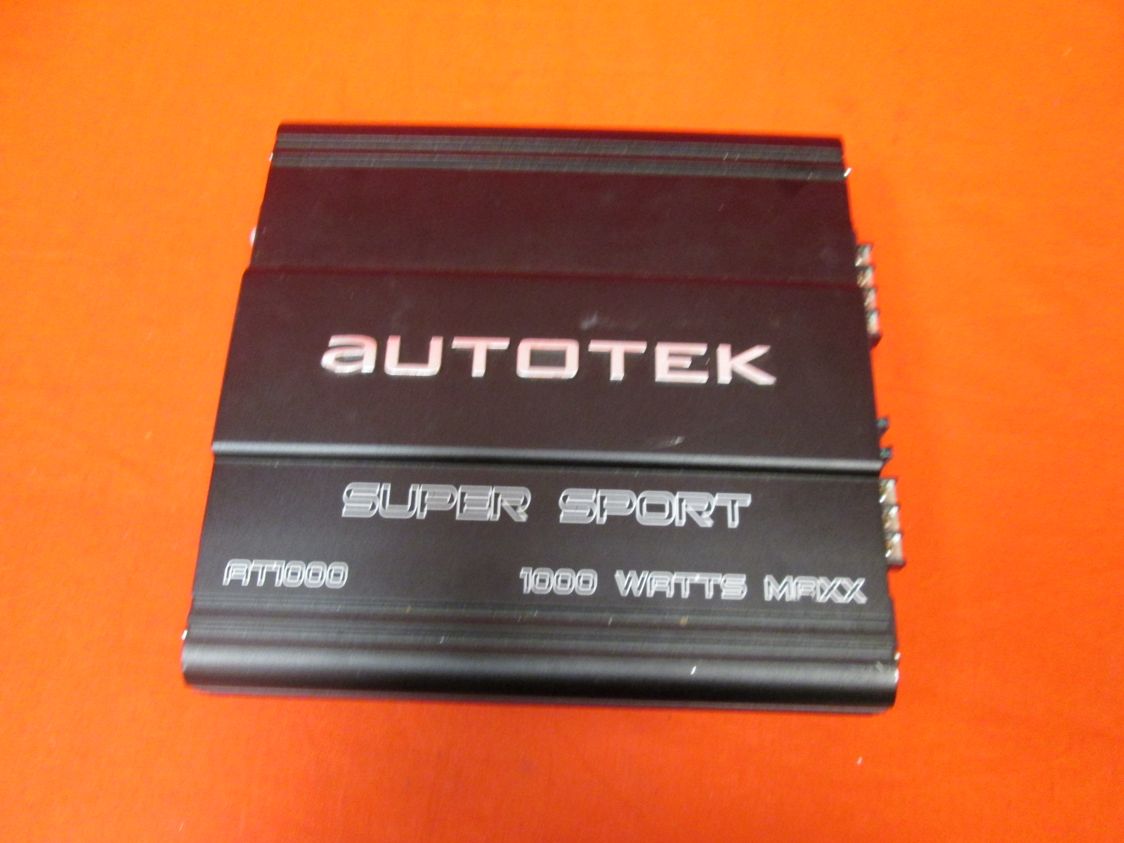 Autotek Super Sport At Series AT1000 Two-Channel Amplifier Black
