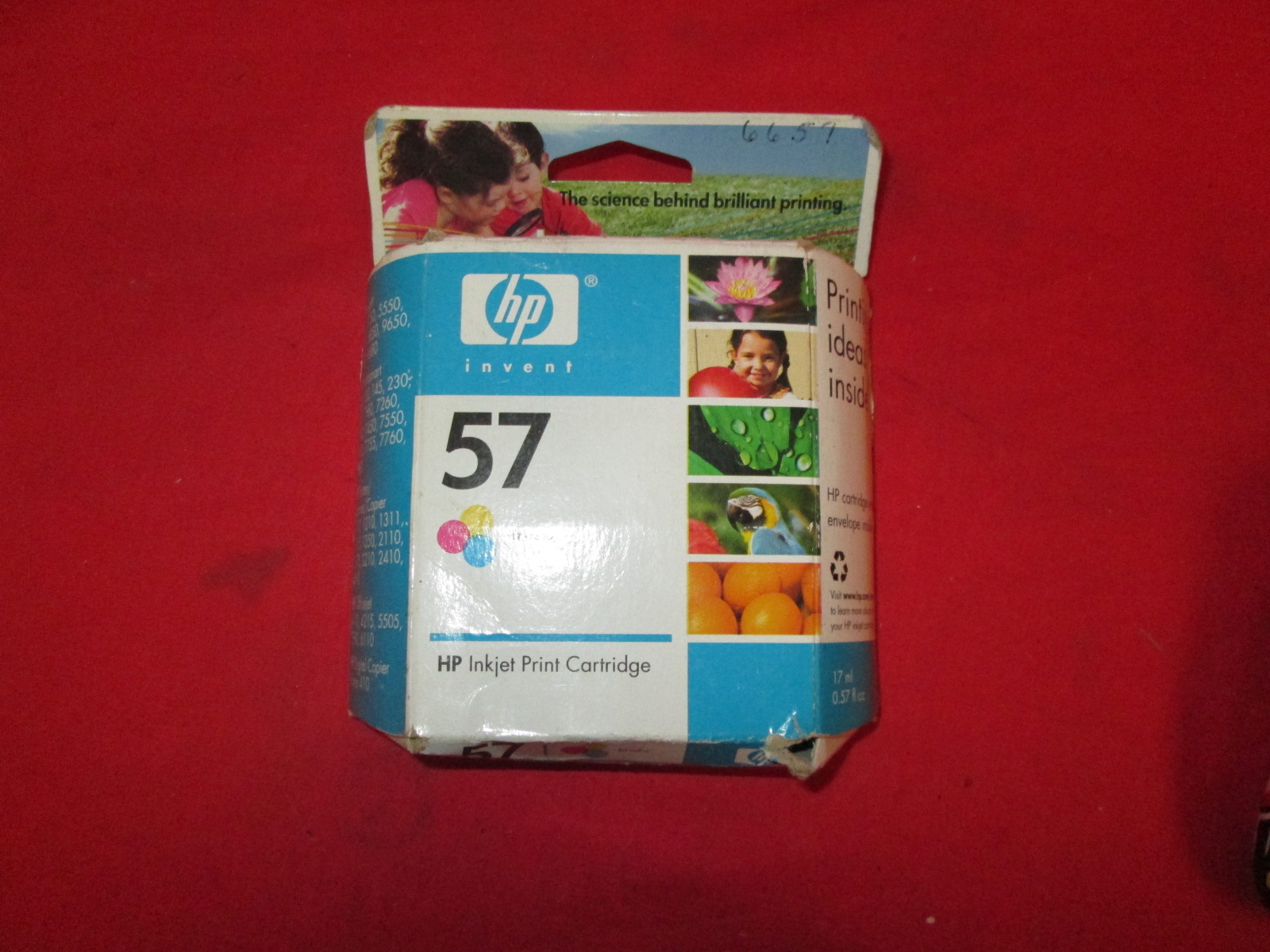 HP Ink Cartridge Replacement For HP 57 Color