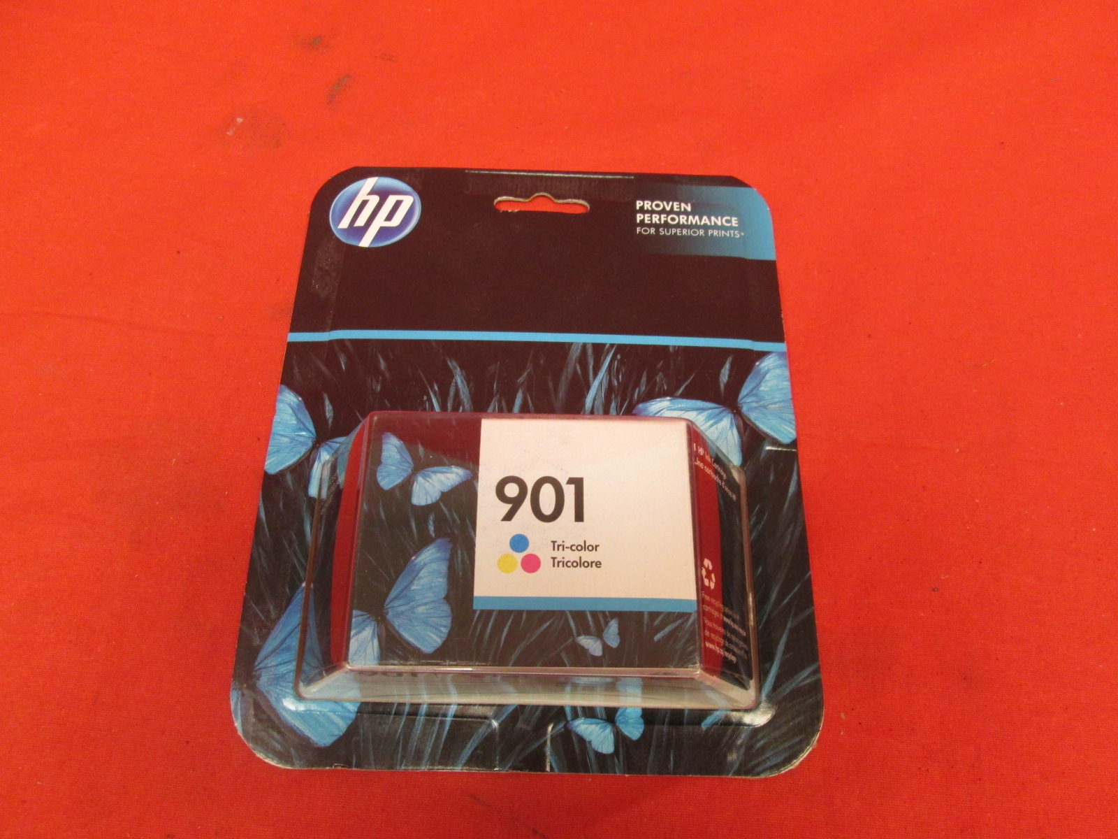 For HP 901 Tri-Color Original Ink Cartridge CC656AN